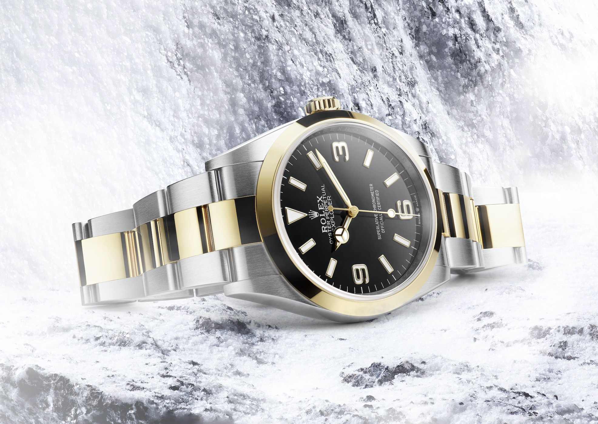 Rolex Explorer 1 36mm Rolesor 124273