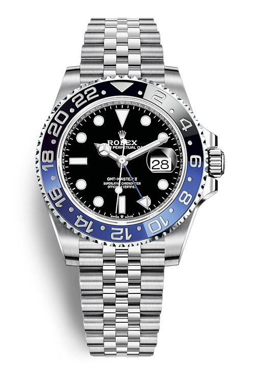 Rolex GMT Master II 126710BLNR Jubilee bracelet