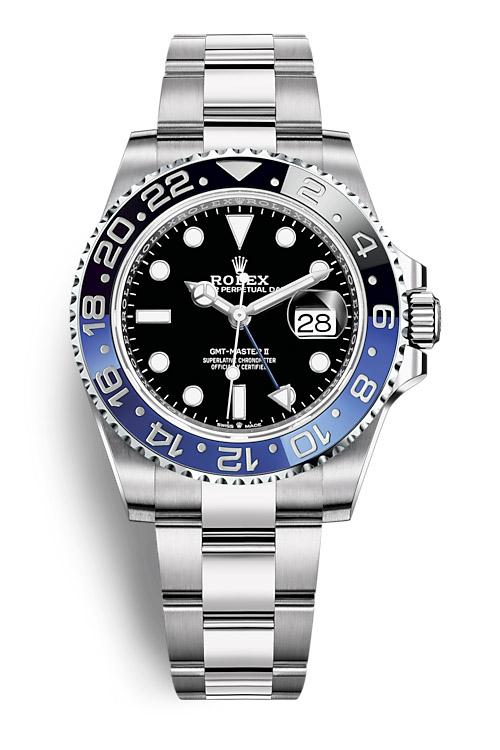 Rolex GMT Master II 126710BLNR Oyster bracelet