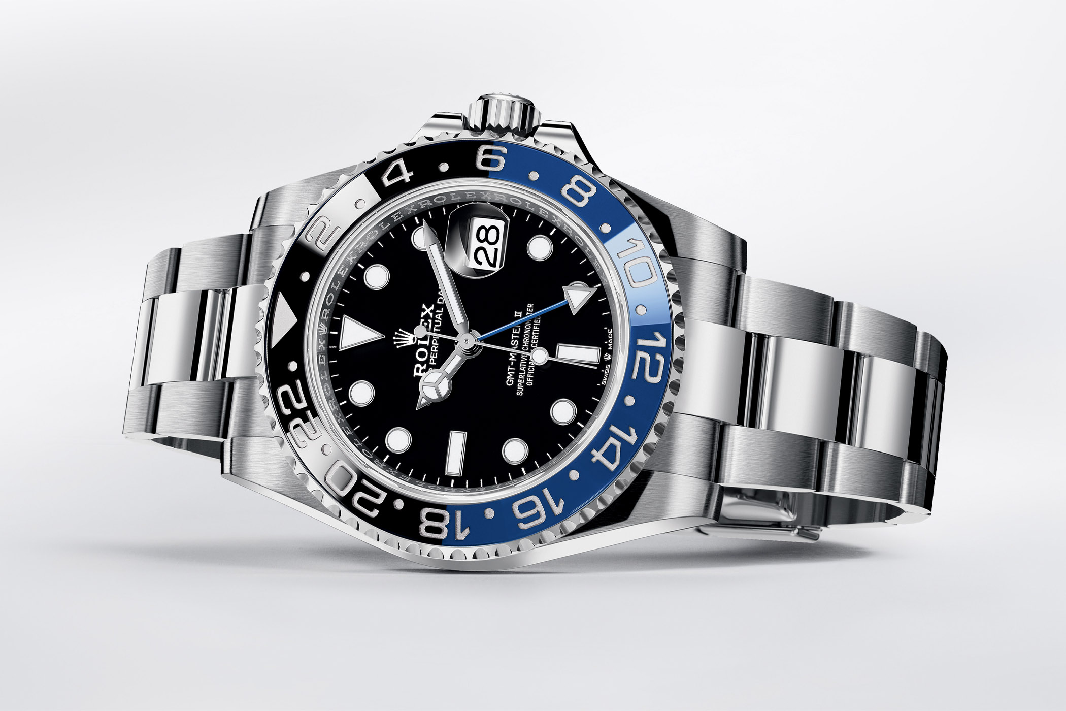 Rolex GMT Master II 126710BLNR and 126710BLRO with Oyster Bracelet 2021