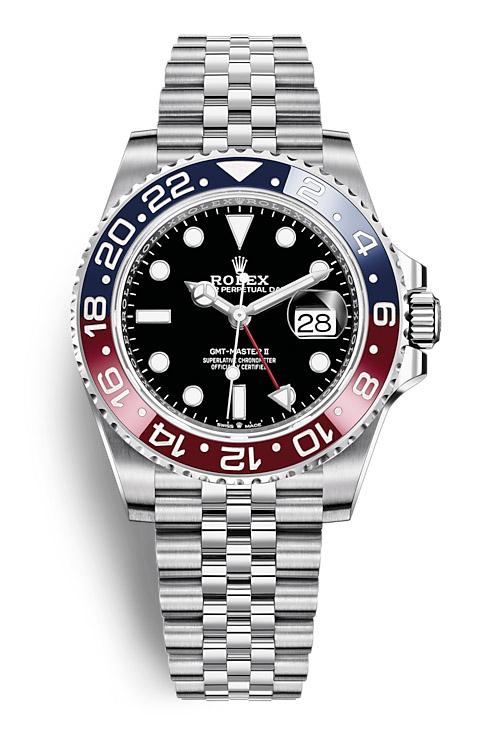 Rolex GMT Master II 126710BLRO Jubilee bracelet