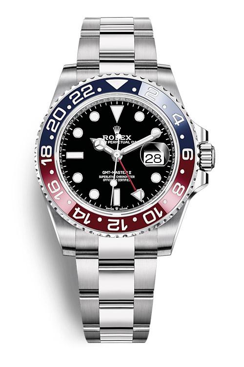 Rolex GMT Master II 126710BLRO Oyster bracelet
