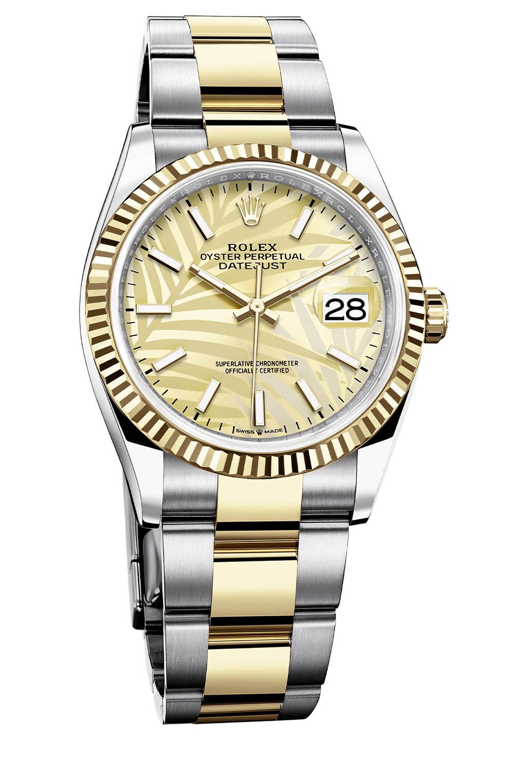 Rolex Oyster Perpetual Datejust 36 palm dial 2