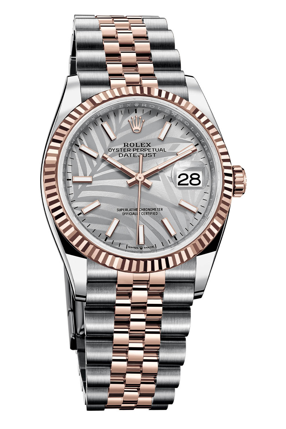 Rolex Oyster Perpetual Datejust 36 palm dial 3