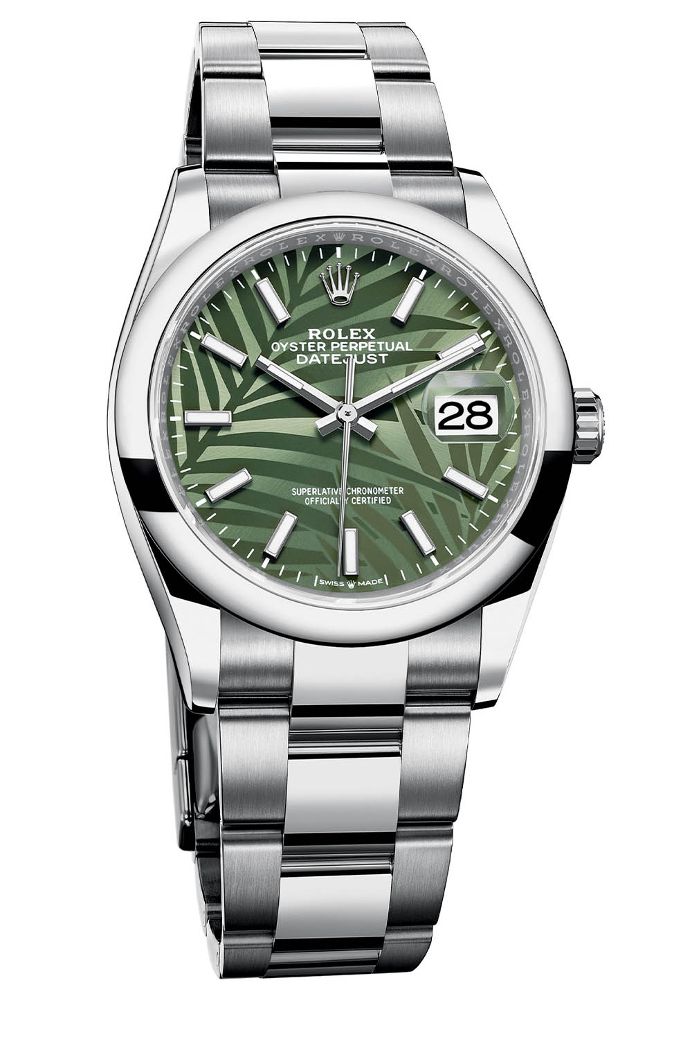 Rolex Oyster Perpetual Datejust 36 palm dial