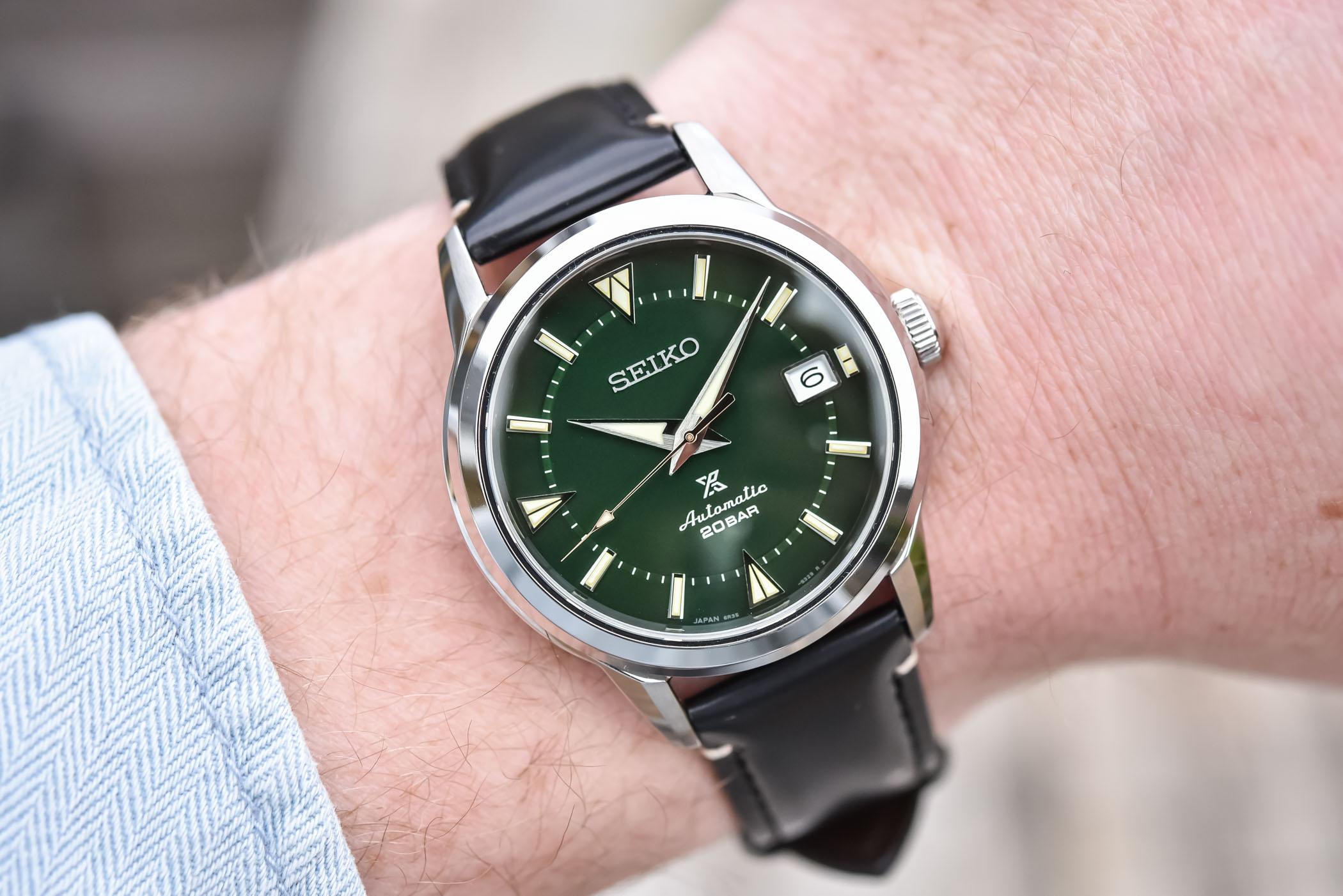 Seiko Prospex 1959 Alpinist Modern Re-Interpretation Watches SPB241J1 - SPB243J1 - SPB245J1
