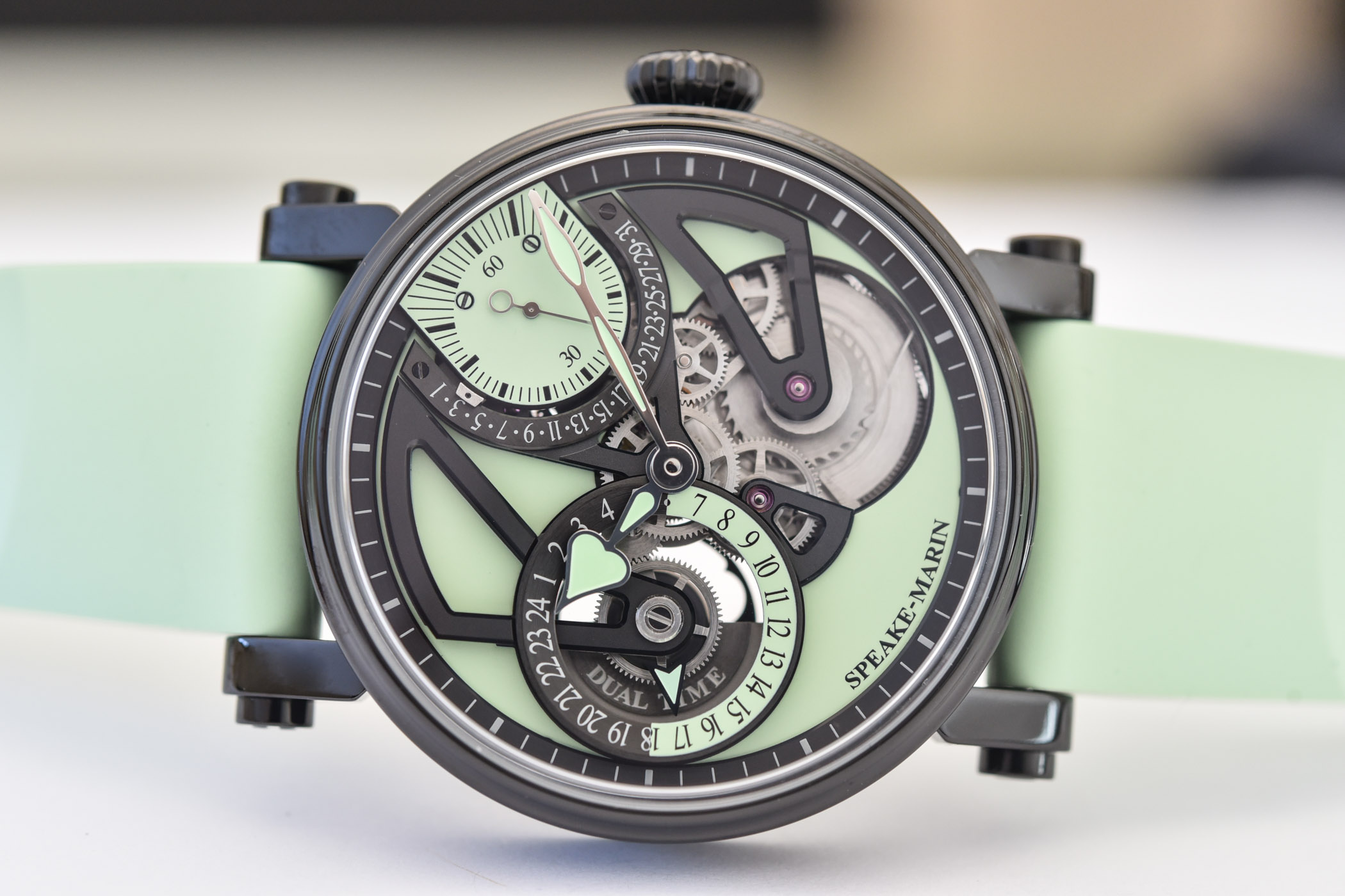 Speake-Marin One&Two Openworked Dual Time Mint - 7