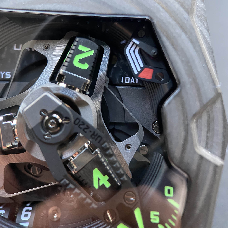 NYCWATCHGUY Urwerk UR-220 Falcon