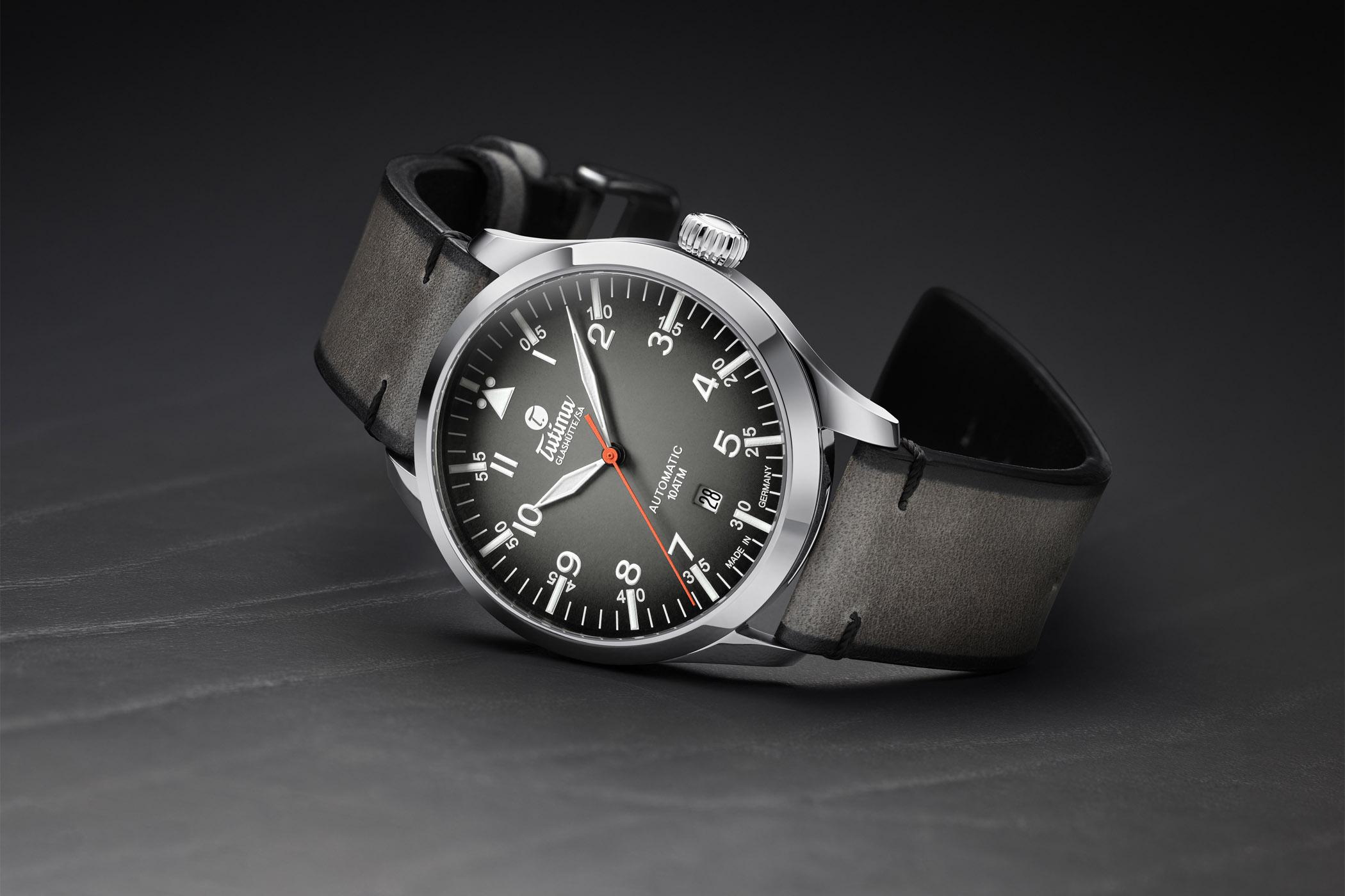 Tutima Flieger Automatic Slate Grey 6105