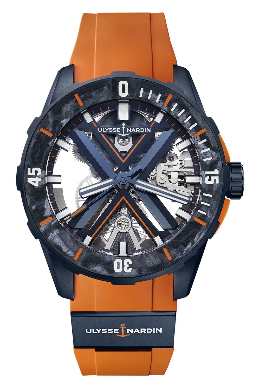 Ulysse Nardin Diver X Skeleton - 3723-170LE-3A-BLUE - 10