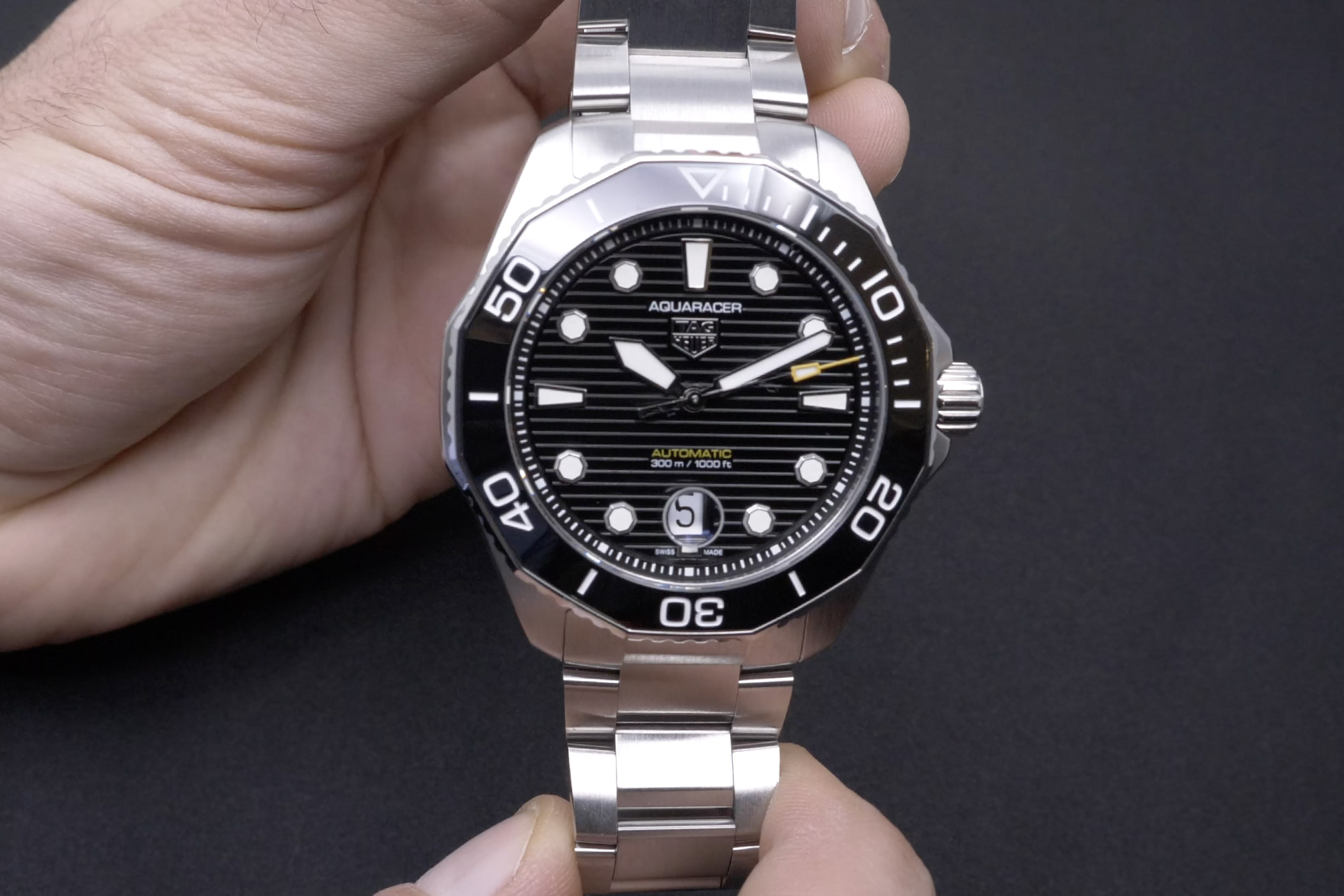 Video Review 2021 TAG Heuer Aquaracer Professional 300