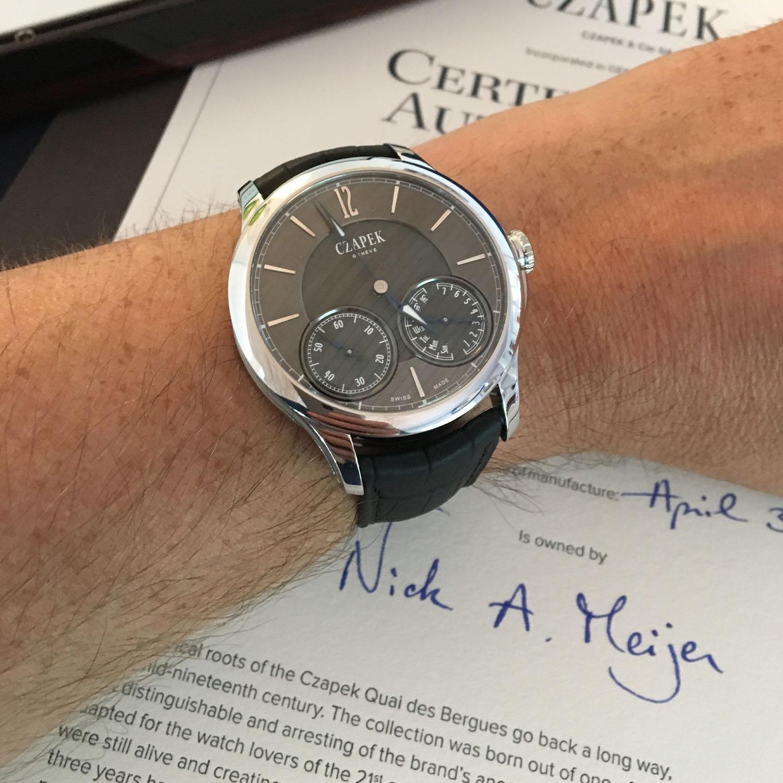 Collector's Series - Nick Meijer and his Czapek Quai des Bergues