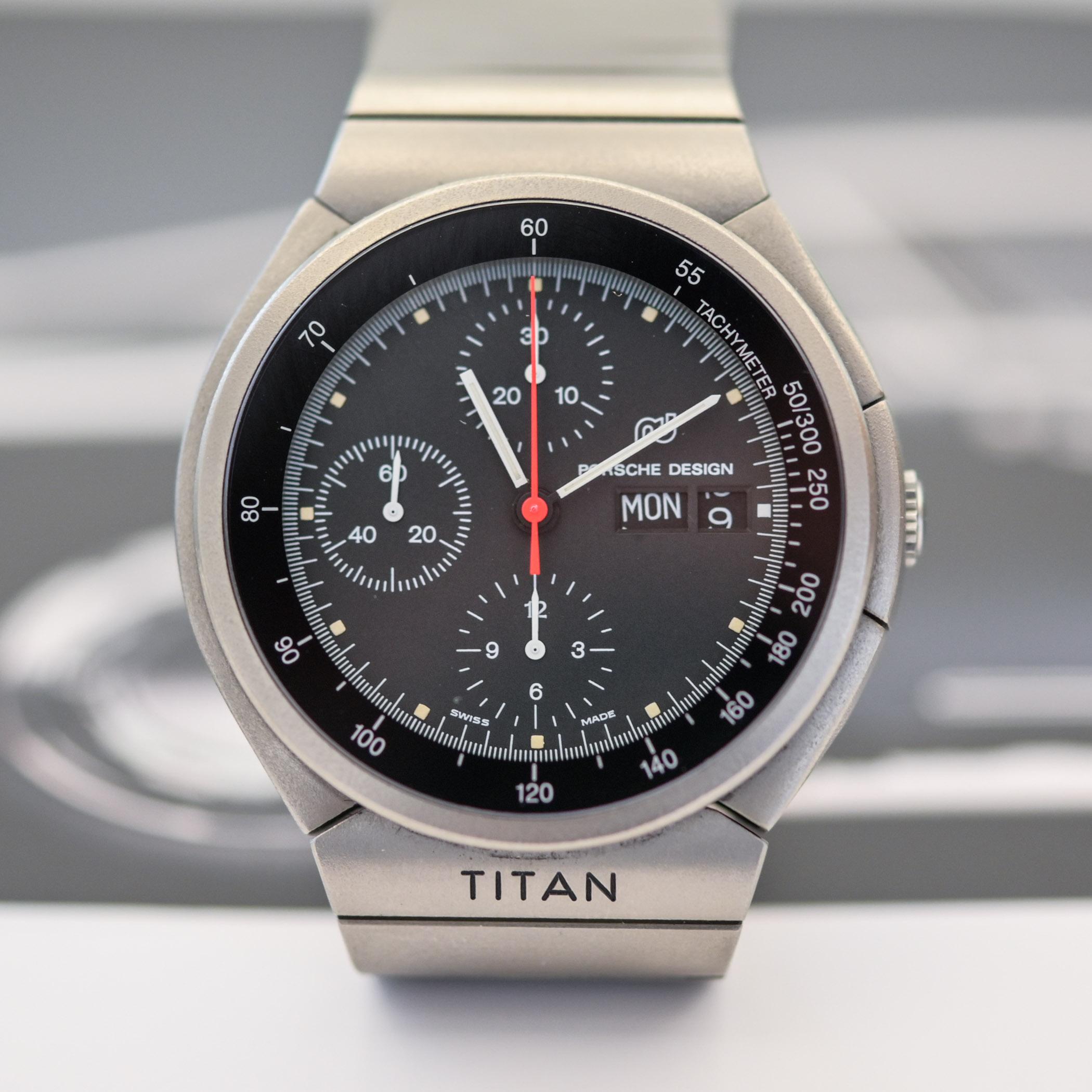 1980 Porsche Design Titan Chronograph 3700 IWC - 3
