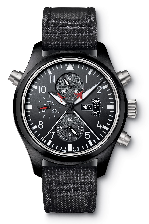 2007 IWC Pilot's Watch Double Chronograph Edition Top Gun IW379901