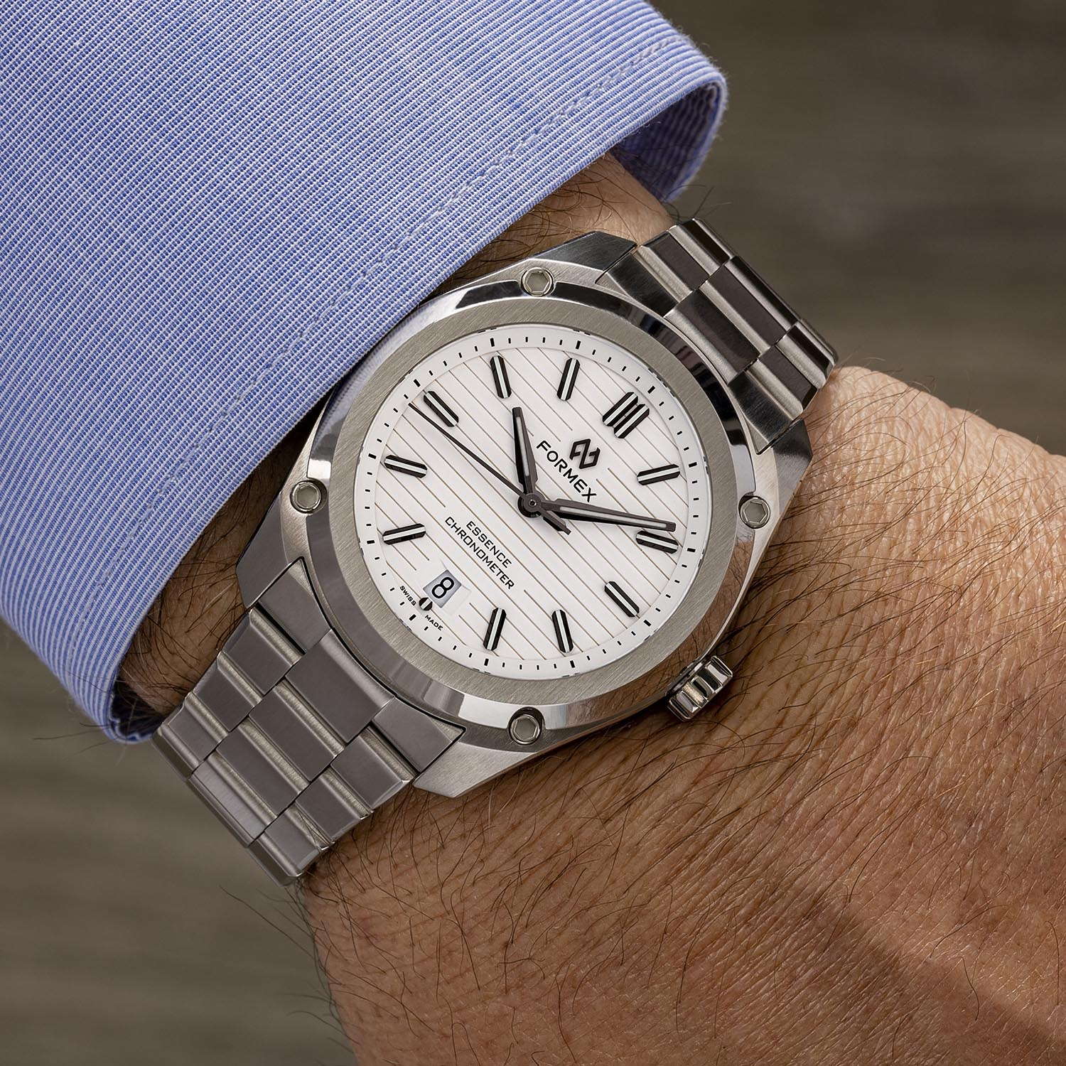 2021 Formex Essence ThirtyNine Automatic Chronometer white dial