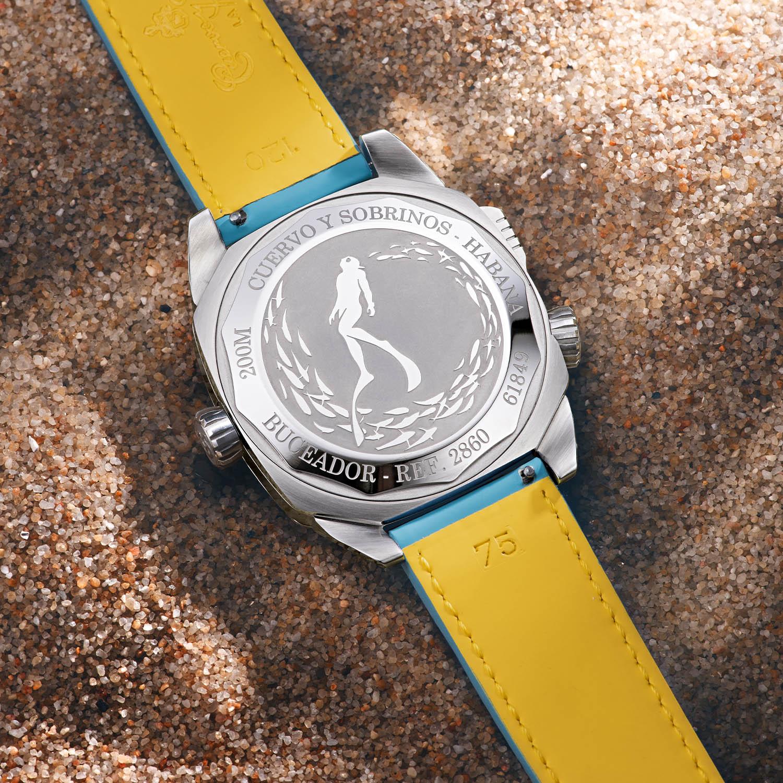 Cuervo y Sobrinos Buceador Caribe Dive Watch