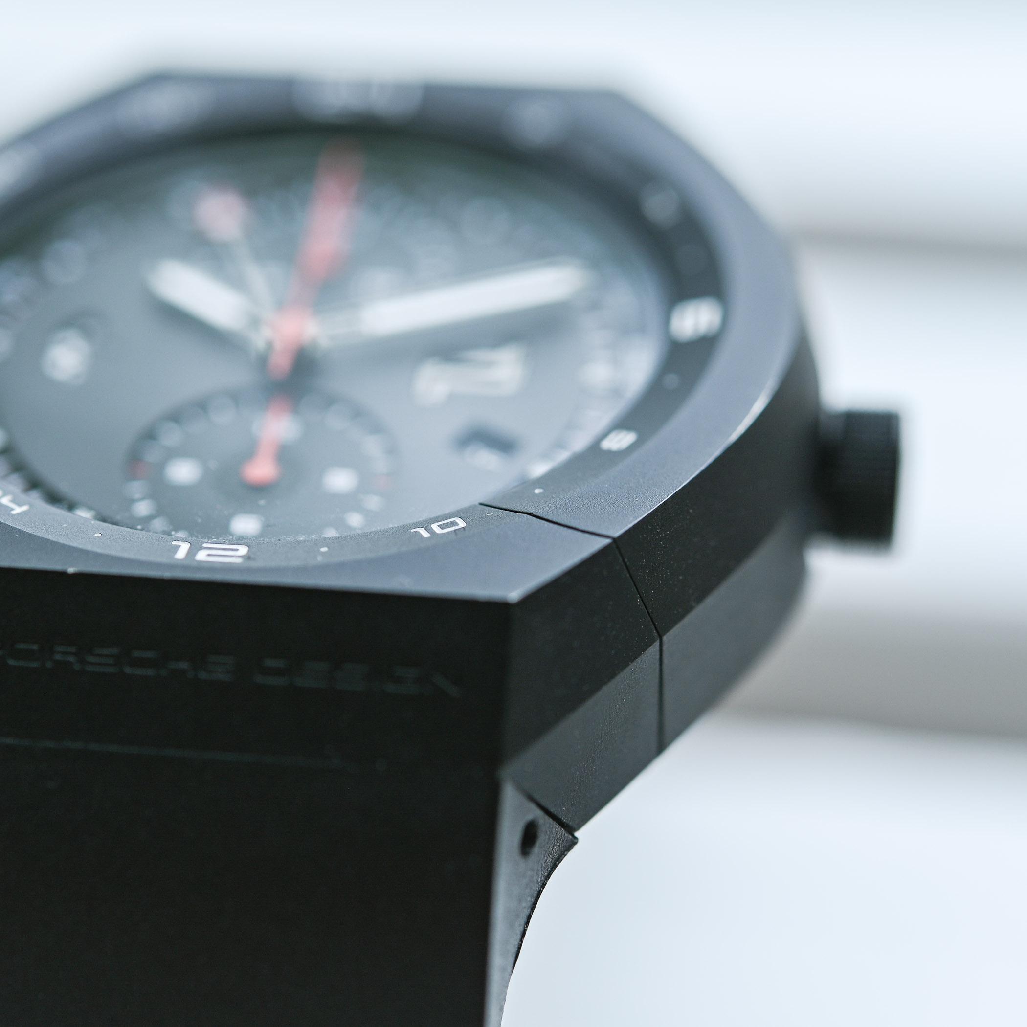 Face to Face Understanding Porsche Design Monobloc actuator versus vitage titan chronograph - 7