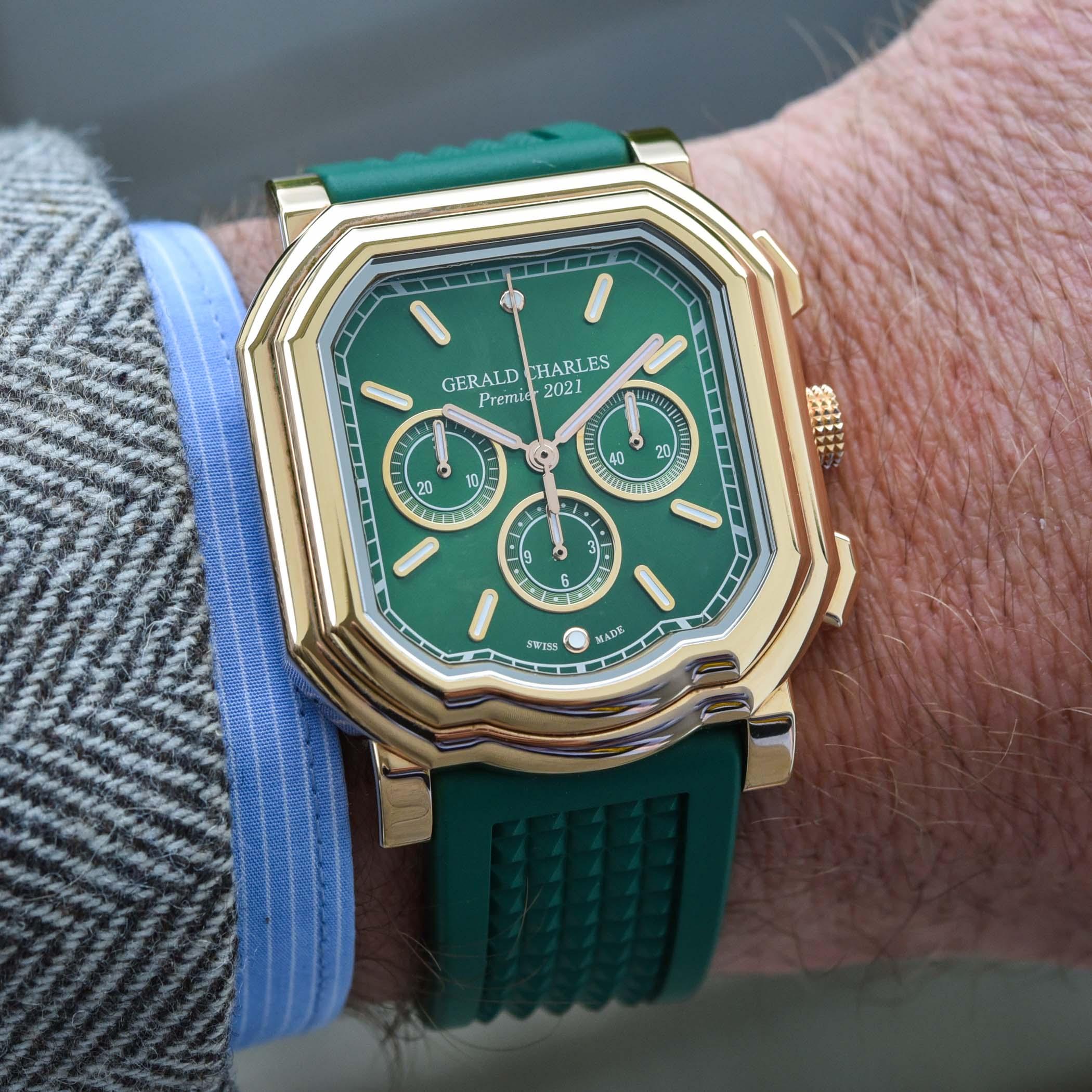 Gerald Charles Maestro 3.0 Premier 2021 Chronograph Green Dial