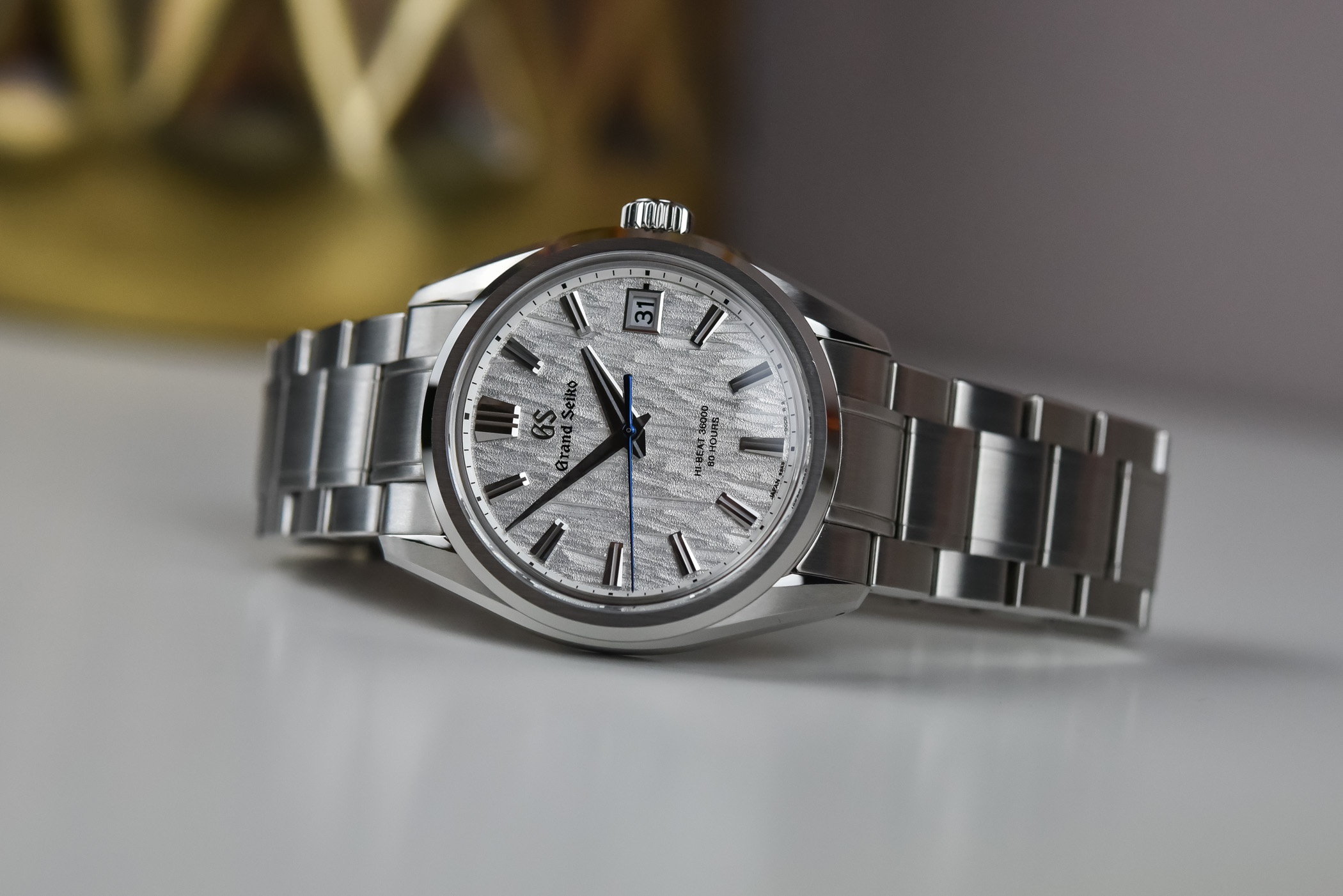 Grand Seiko SLGH005 White Birch Hi-Beat Caliber 9SA5