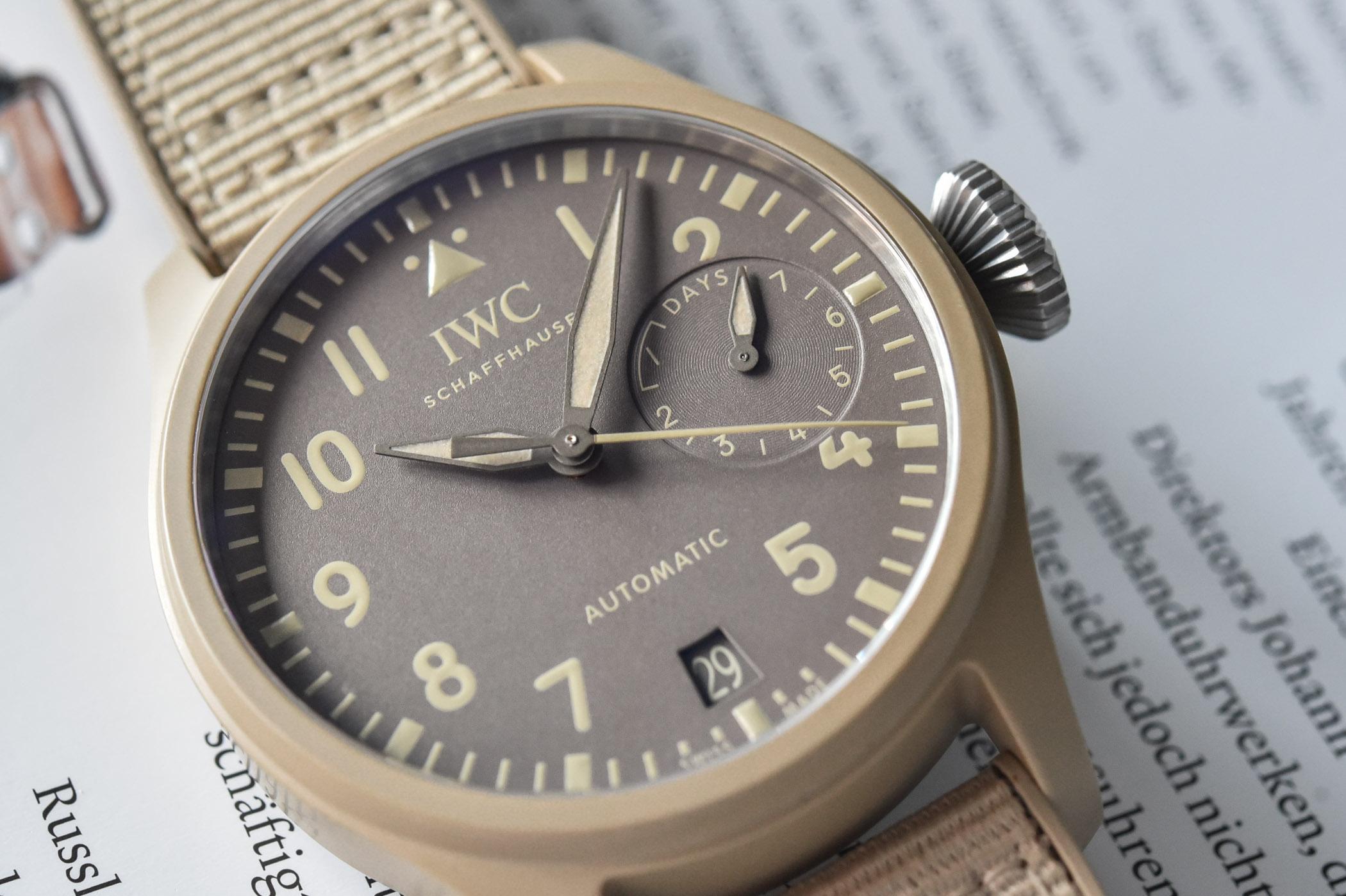 IWC Big Pilot's Watch Top Gun Mojave Desert Edition IW506003
