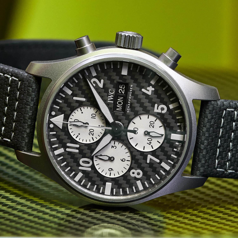 IWC Pilots Watch Chronograph Edition AMG IW377903 - 5
