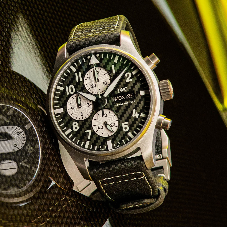 IWC Pilots Watch Chronograph Edition AMG IW377903 - 6