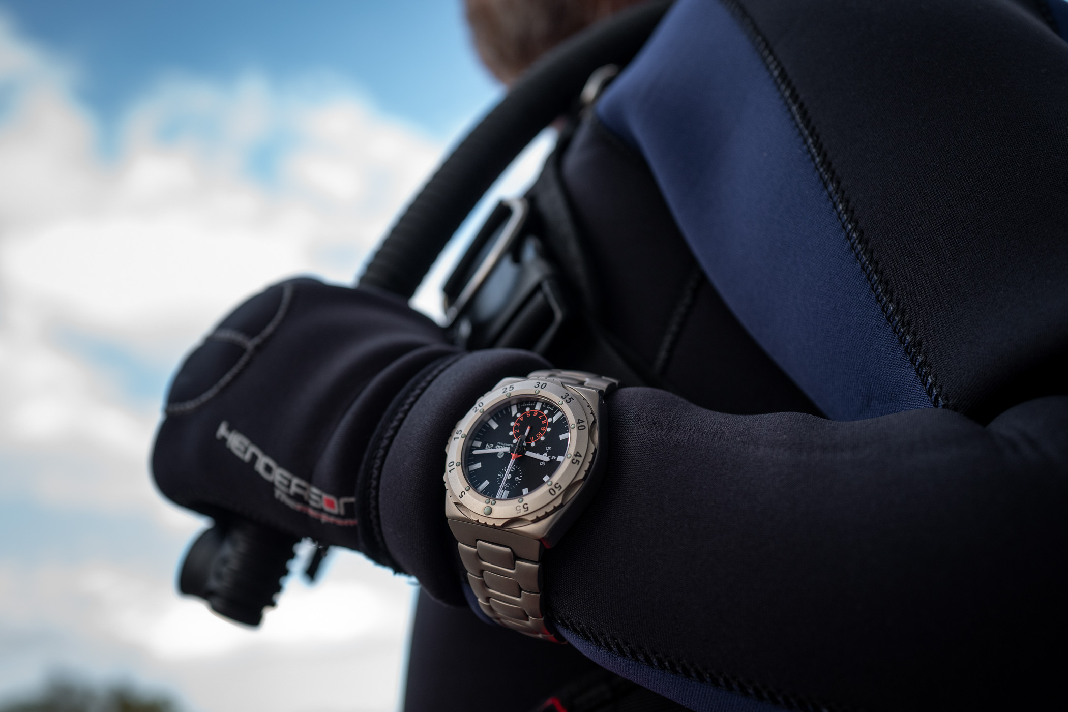 In-Depth Review - Diving With The Tutima M2 Pioneer Chronograph 6451