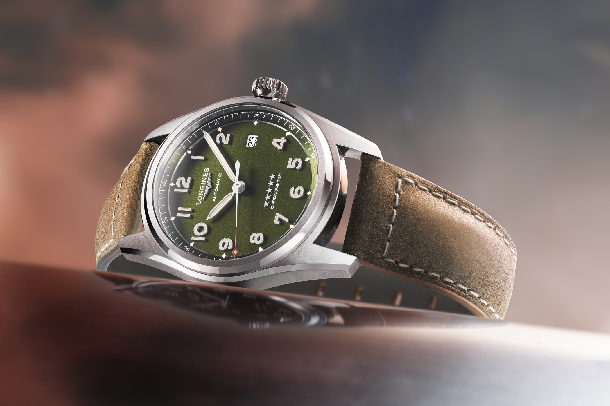 Longines Spirit Green Collection
