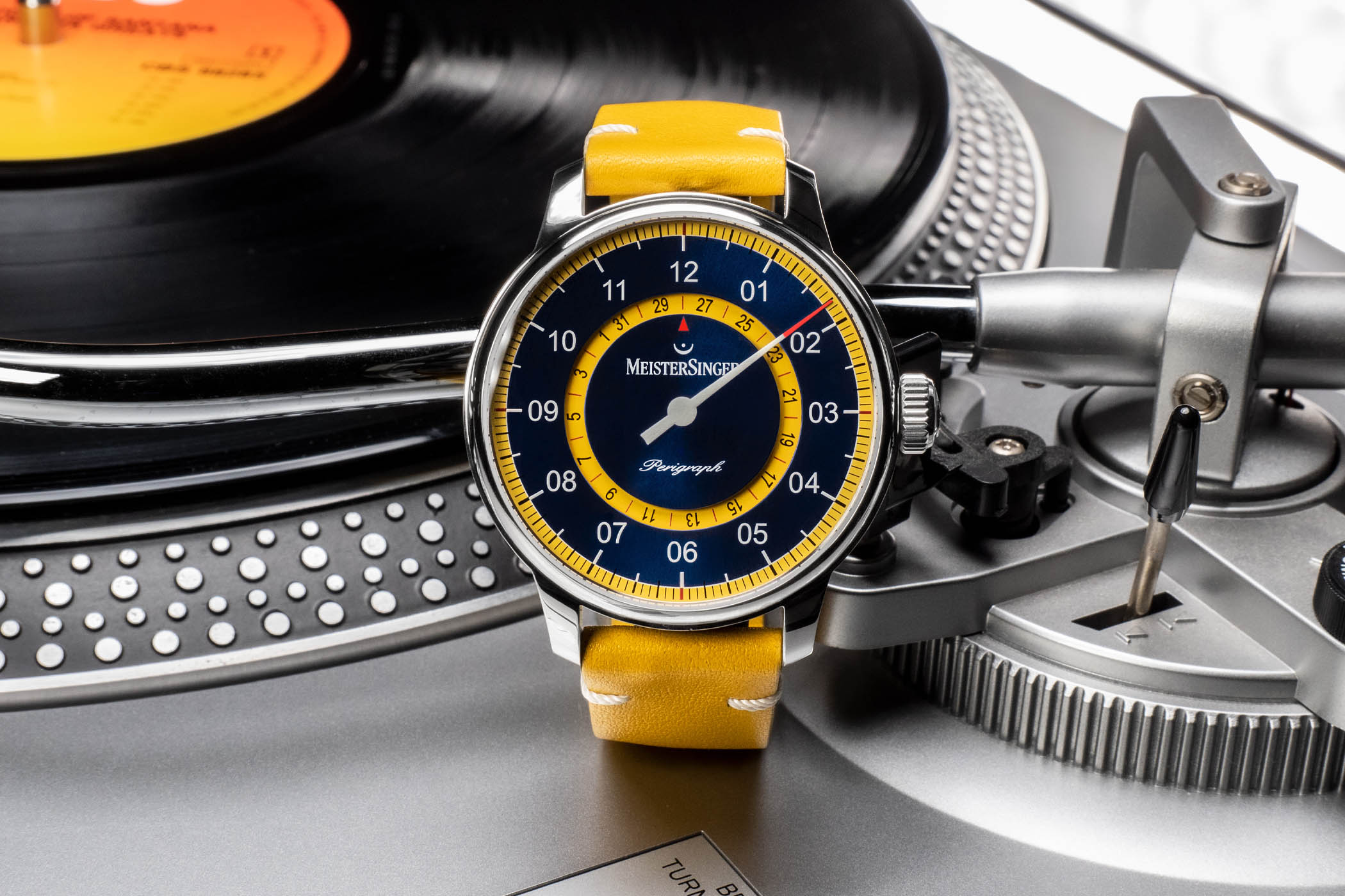 MeisterSinger Perigraph Mellow Yellow Limited Edition