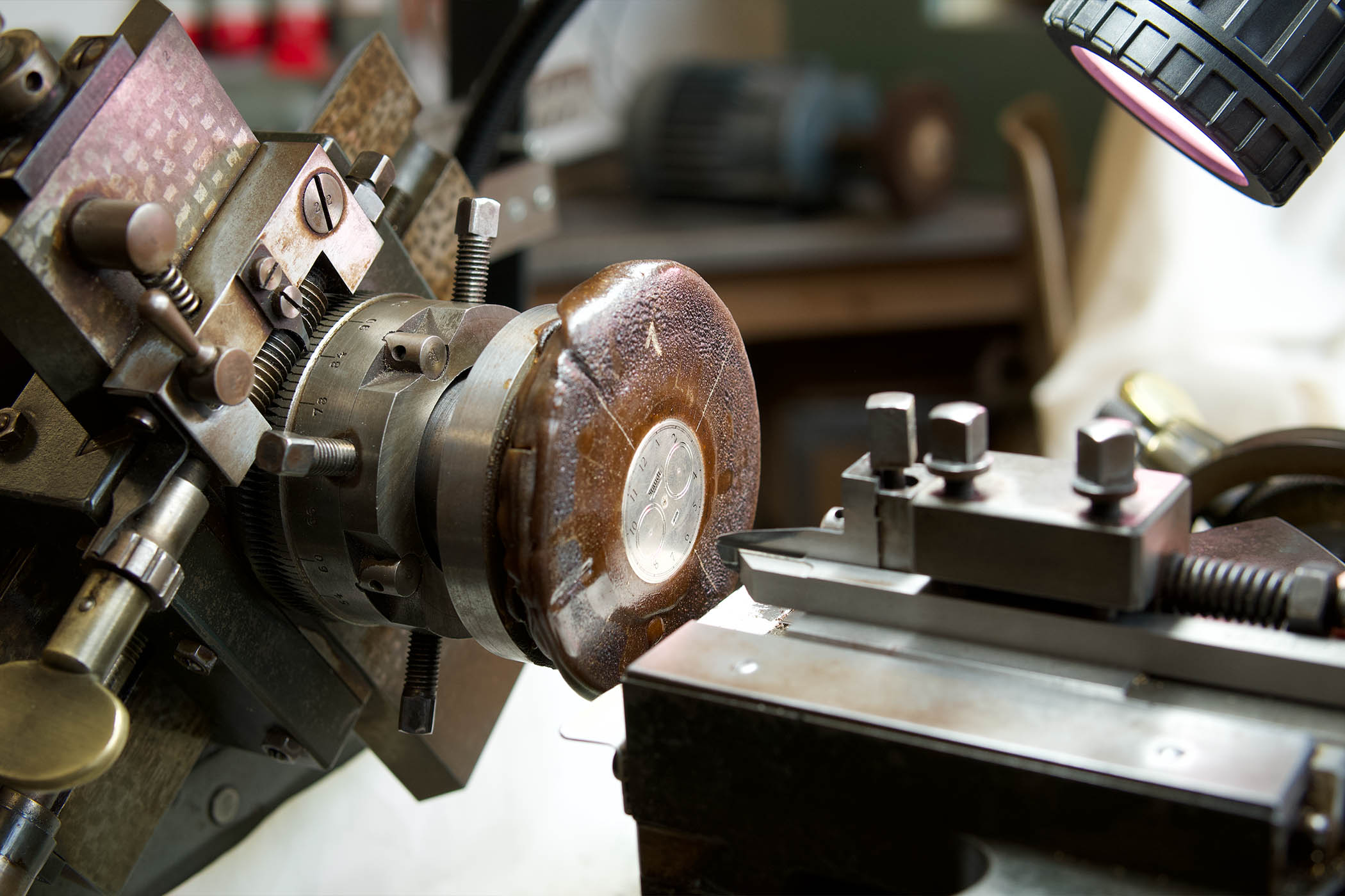 Staudt Guilloche Chronograph watch - 8