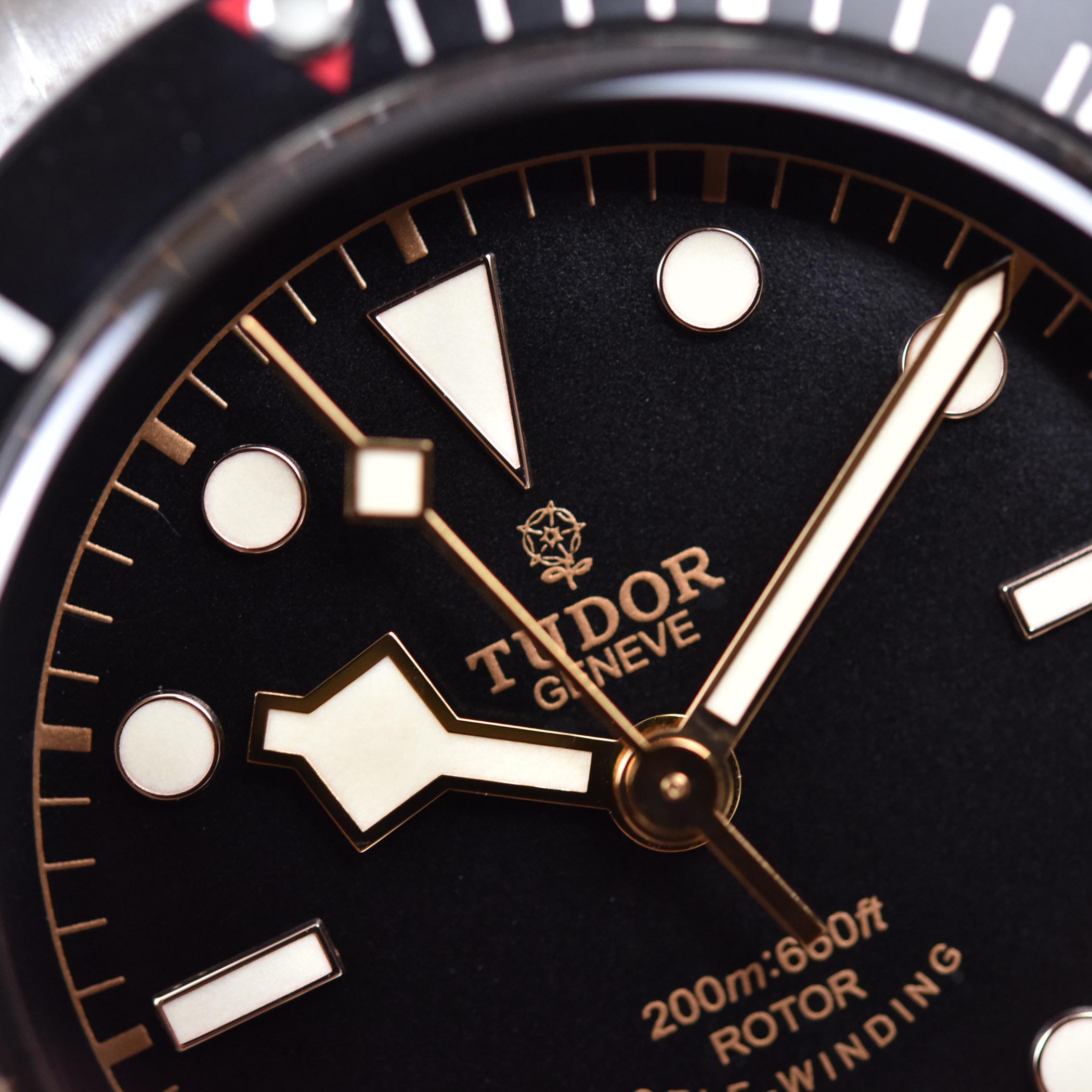 Tudor Black Bay 79220N Smiley Face ETA