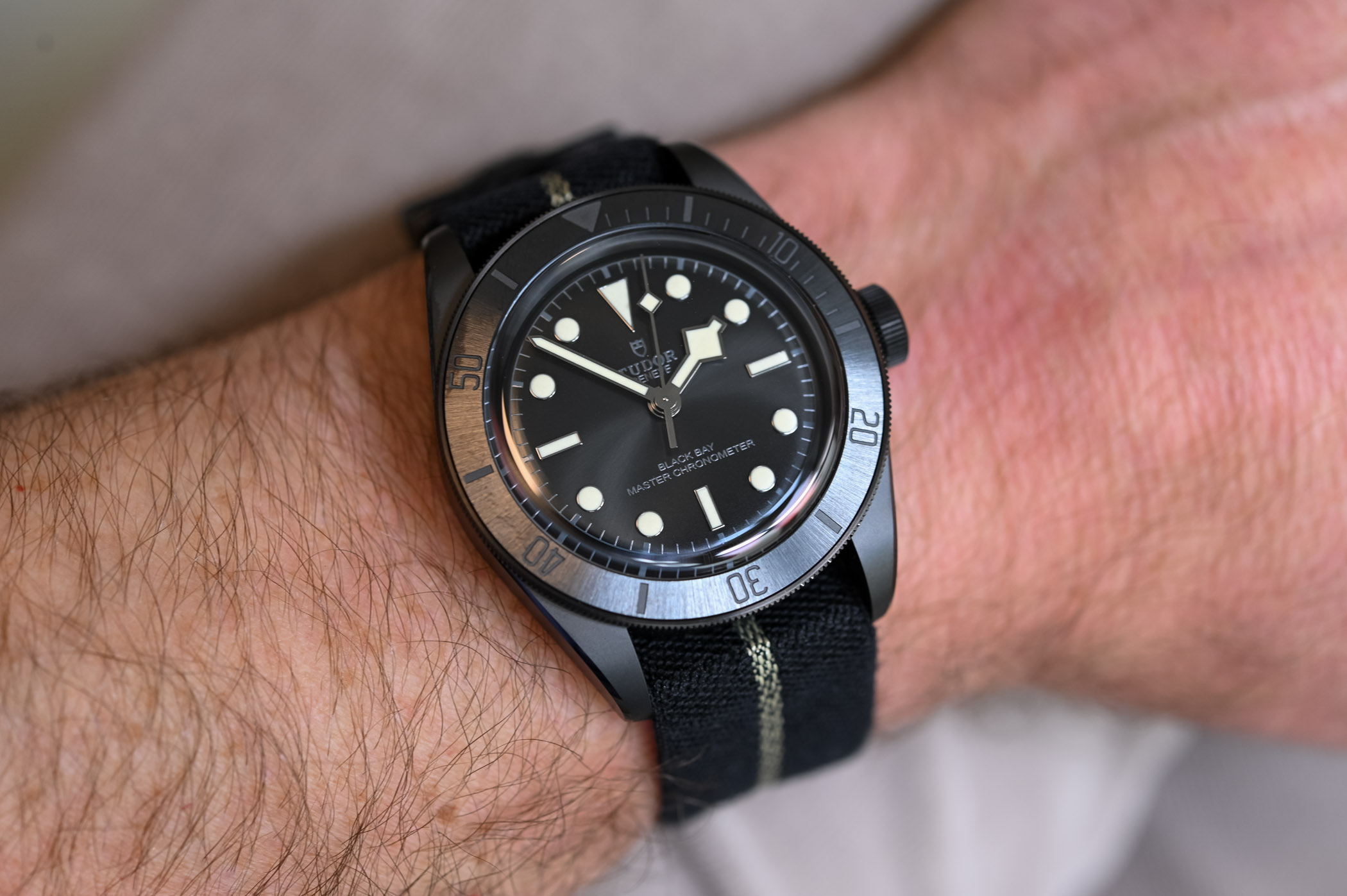 Tudor Black Bay Ceramic Master Chronometer METAS M79210CNU-0001 - review - 7