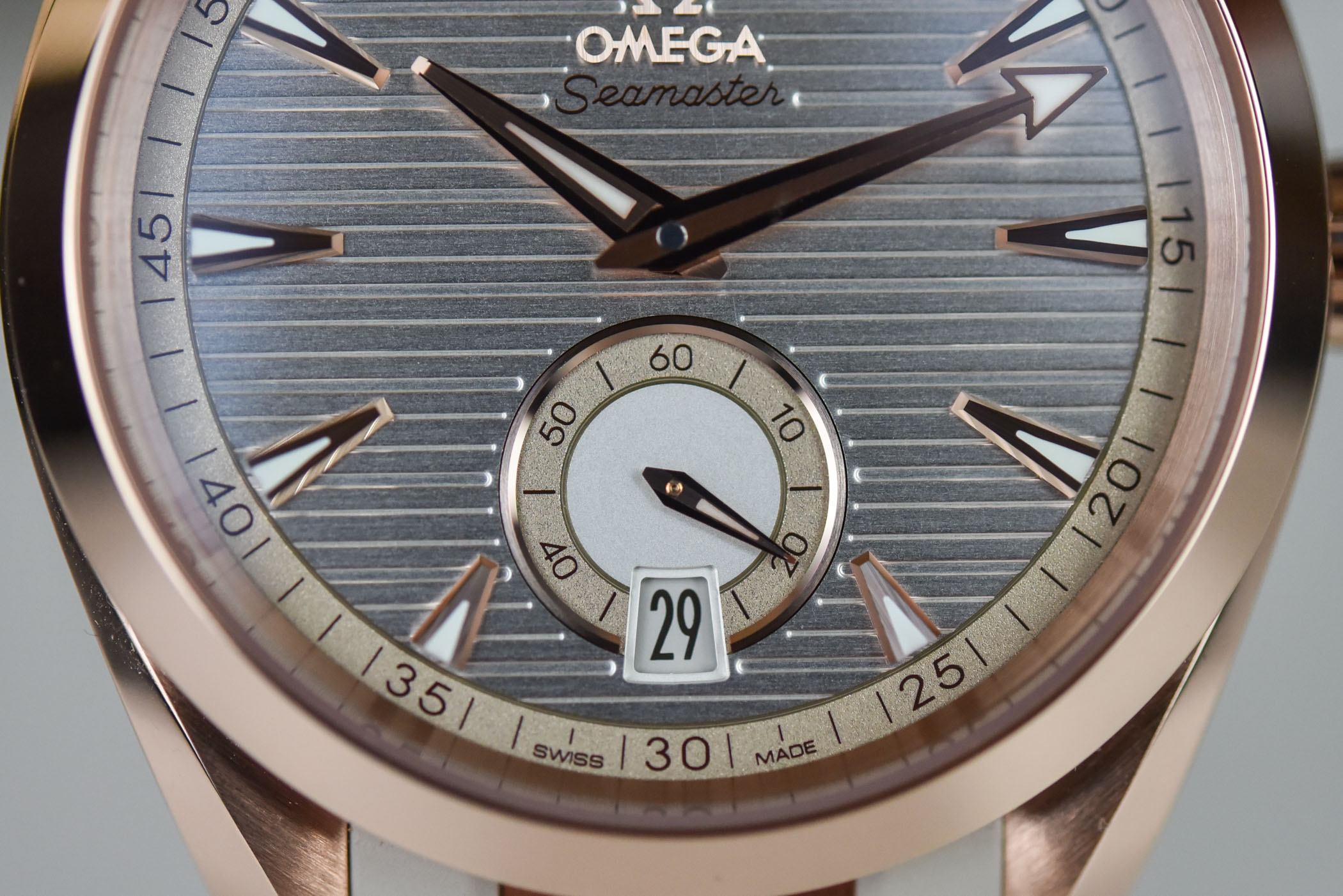 2021 Omega Seamaster Aqua Terra Small Seconds Collection