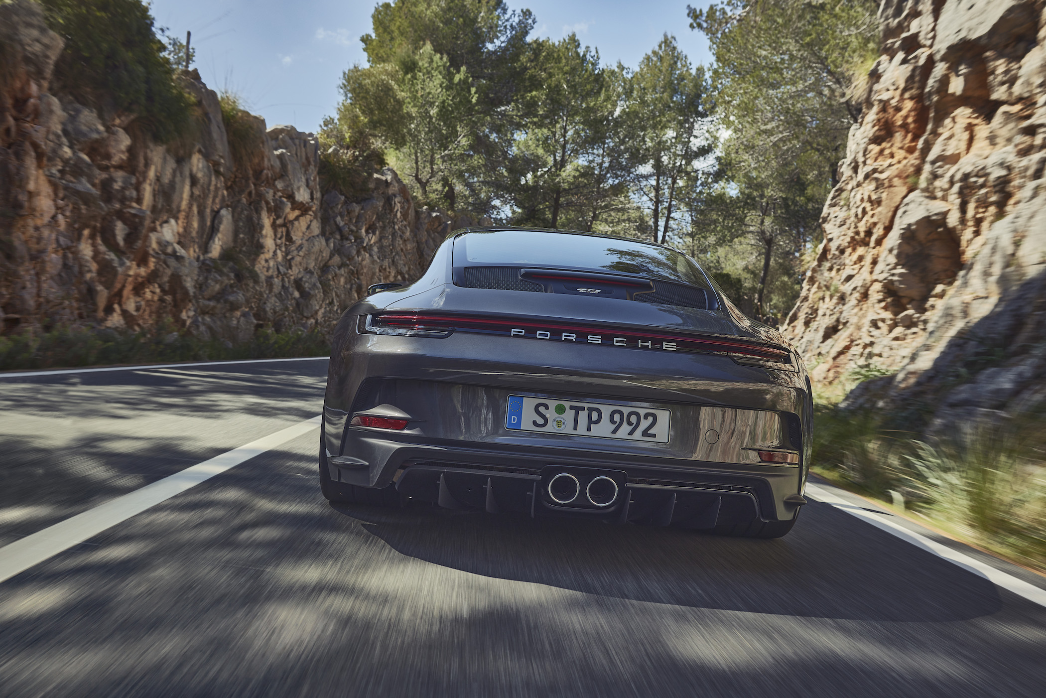2021 Porsche 911 GT3 with Touring package