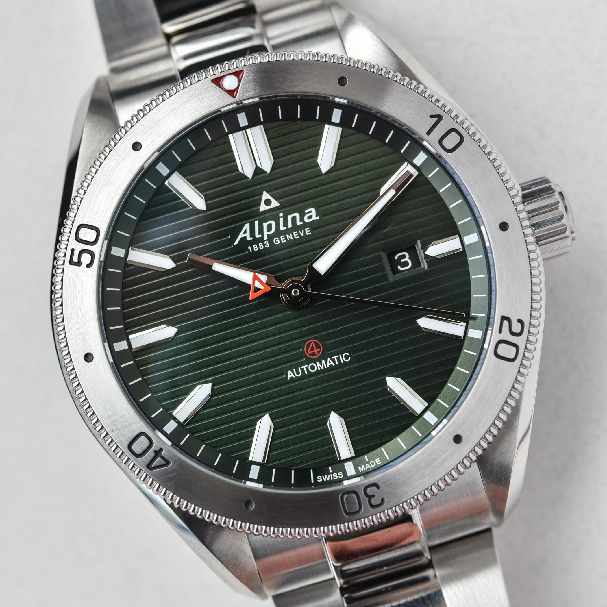 Alpina Alpiner4 Automatic Green dial 2021 - AL-525GR5AQ6B - 4