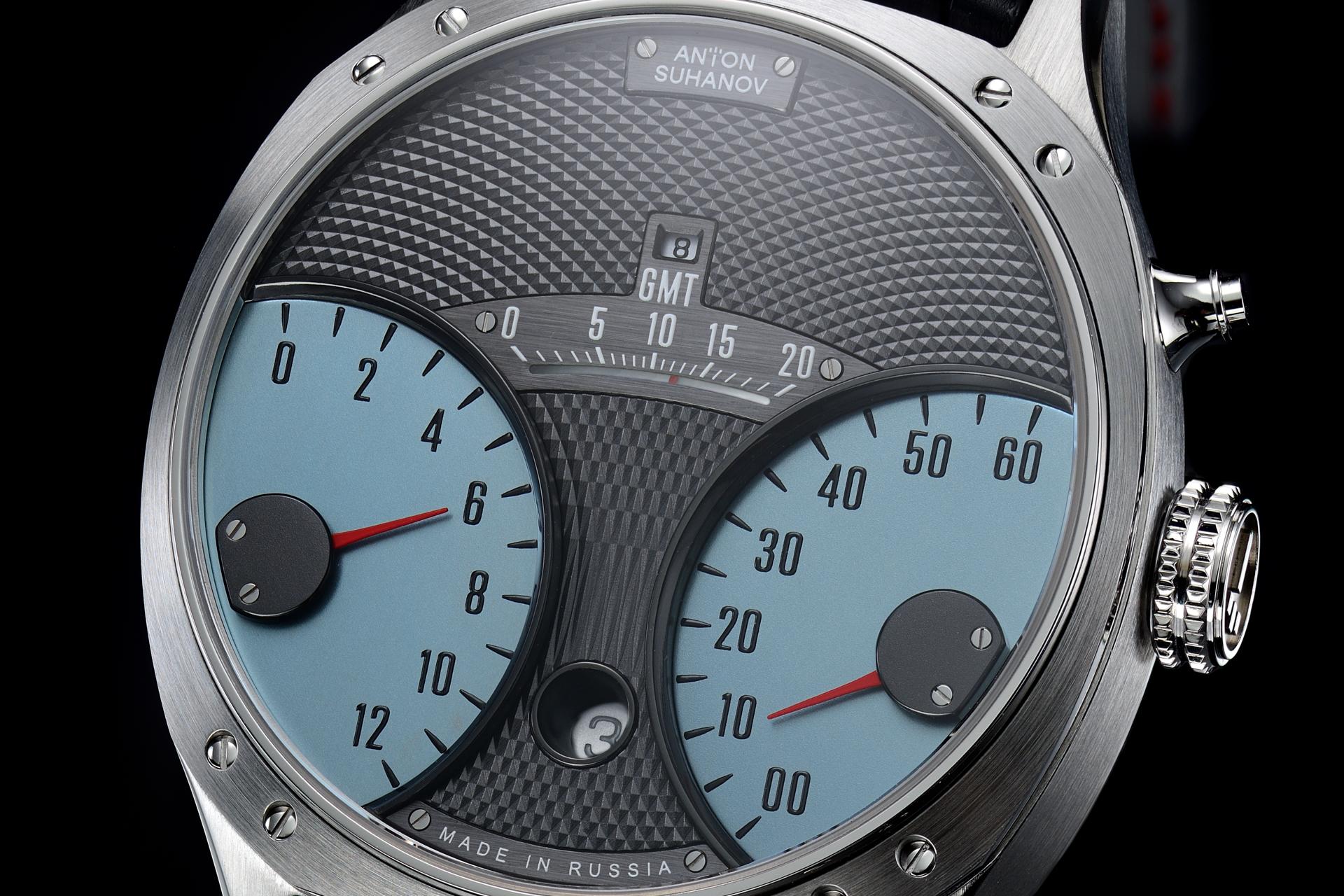 Anton Suhanov Racer Jumping Hour GMT