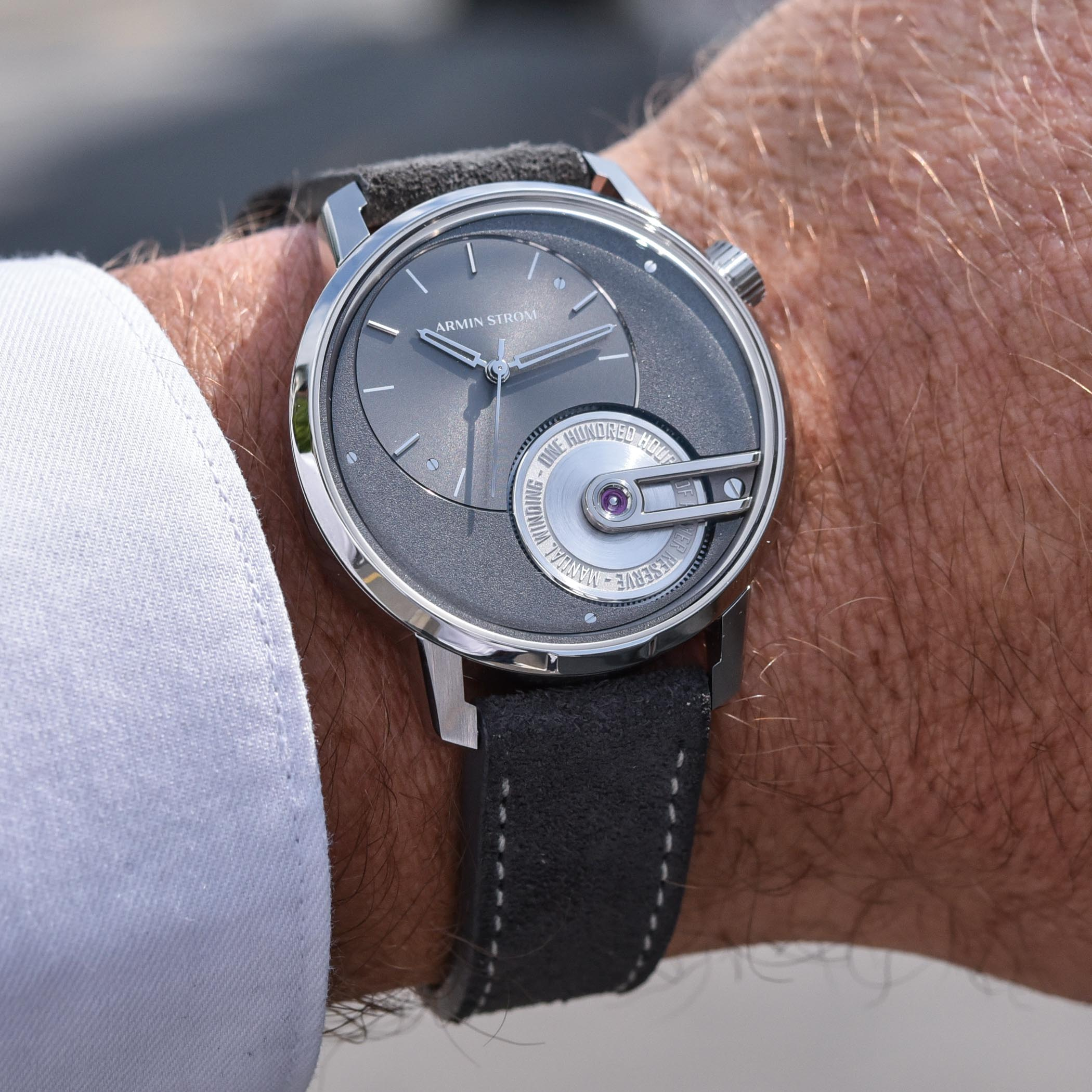 Armin Strom Tribute 1 First Edition - hands-on - 10