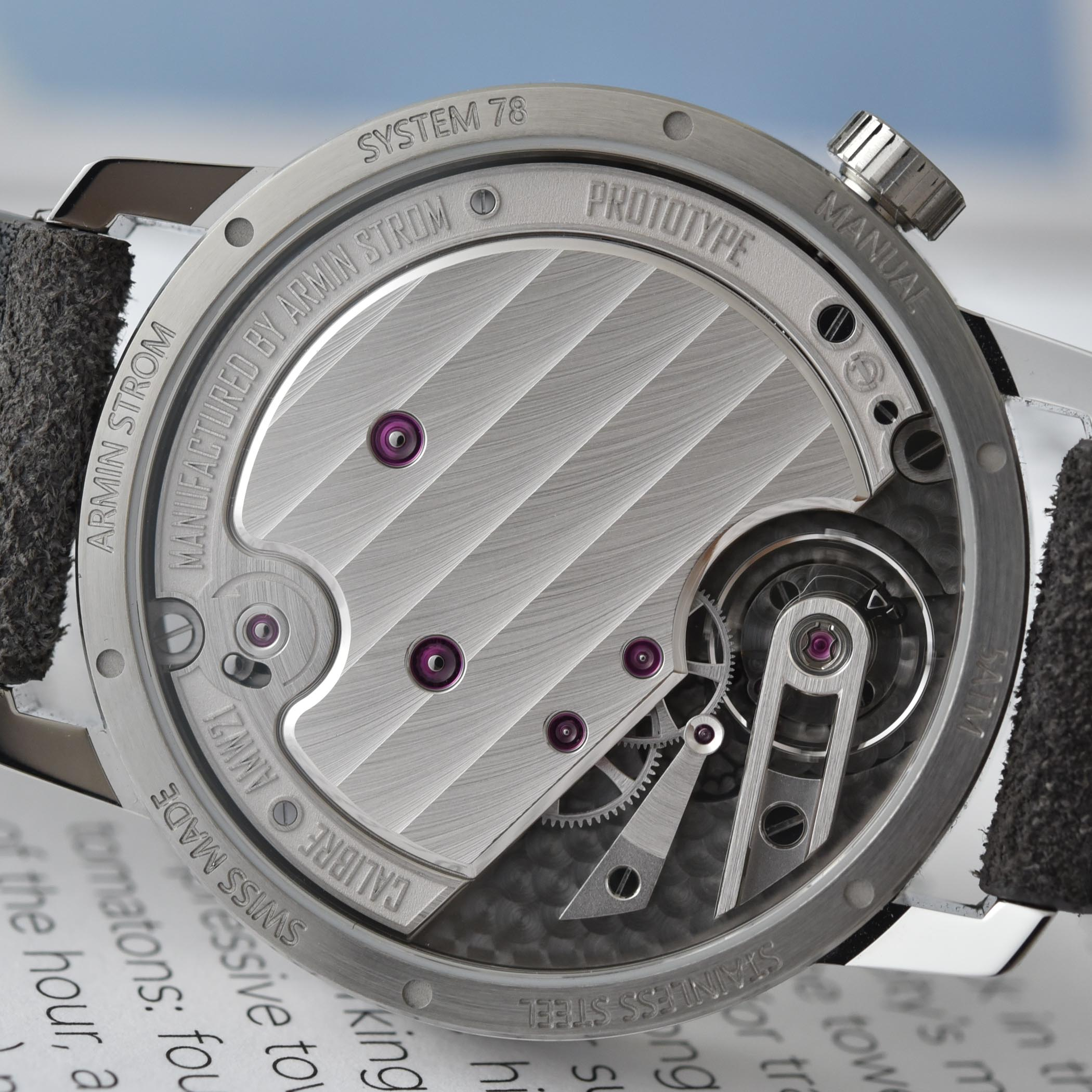 Armin Strom Tribute 1 First Edition - hands-on - 5