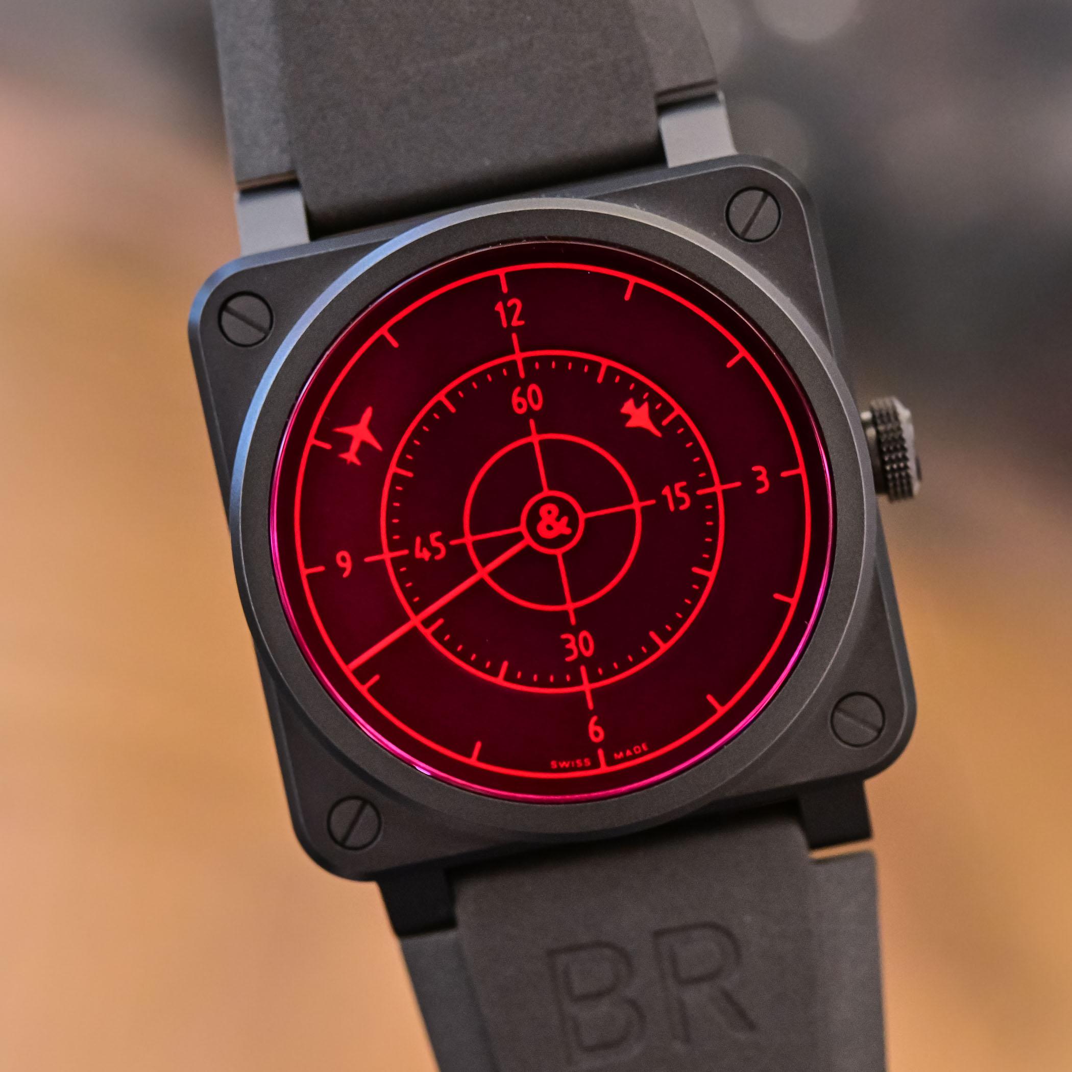 Bell & Ross BR 03-92 Red Radar Ceramic
