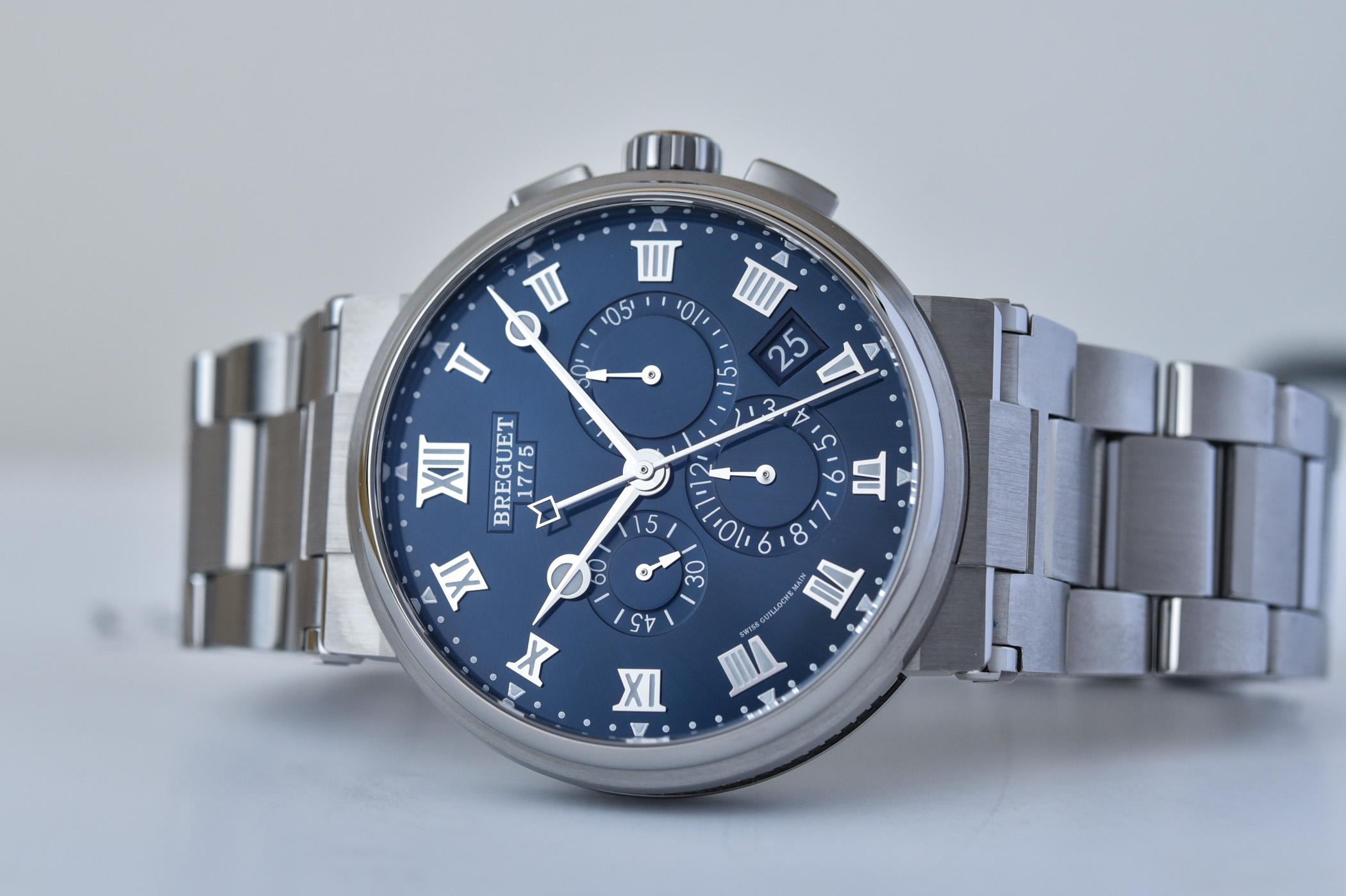 Breguet Marine Chronograph 5527 new colours 2021