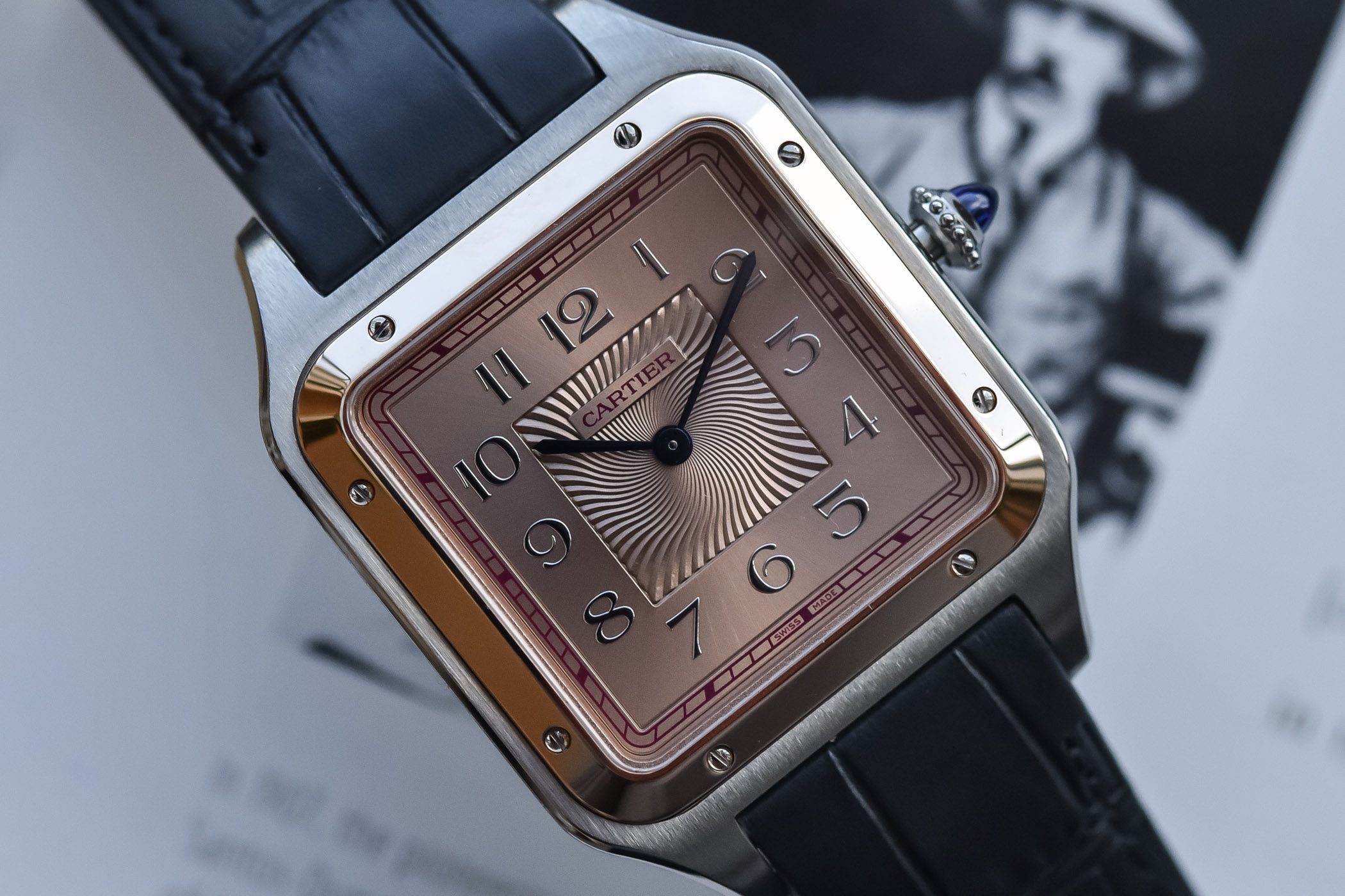 Cartier Santos-Dumont XL Limited Edition 2021 Steel and Gold CRW2SA0025