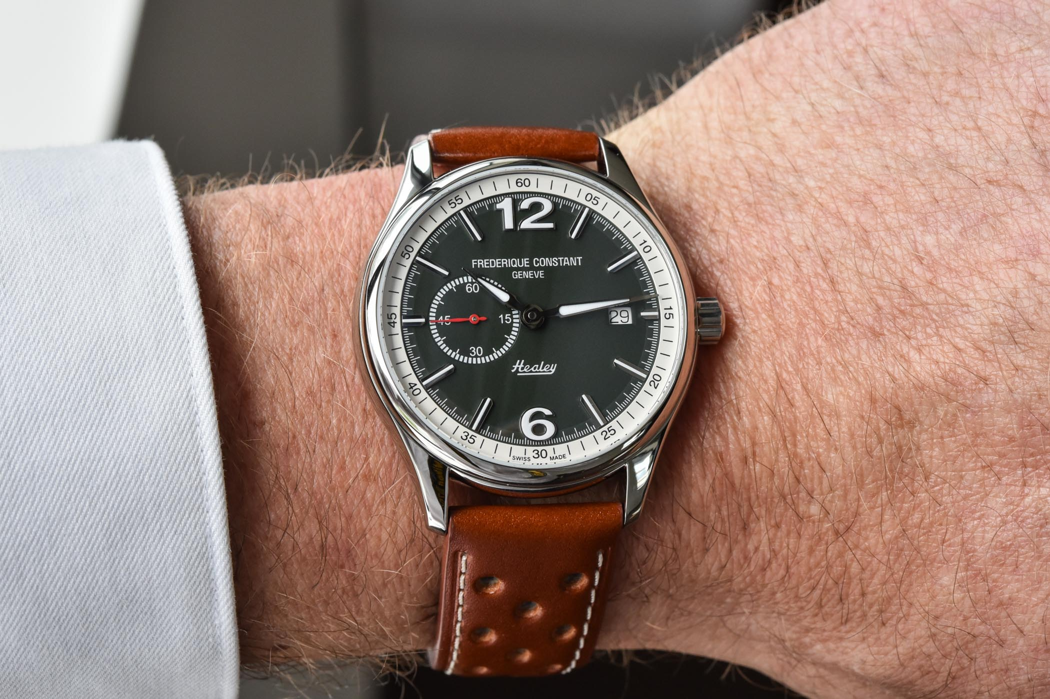 Frederique Constant Vintage Rally Healey Automatic Small Seconds 2021 - 4