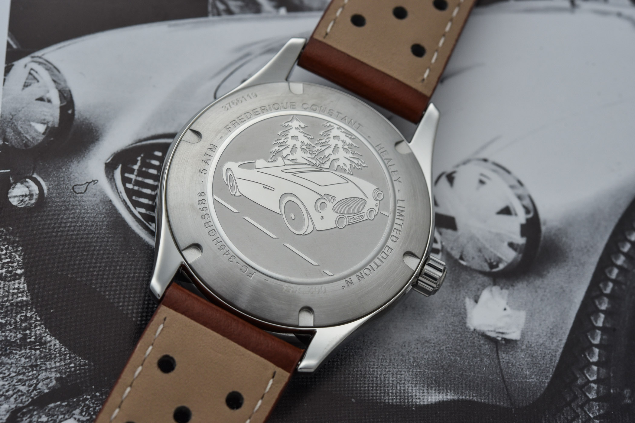 Frederique Constant Vintage Rally Healey Automatic Small Seconds 2021 - 8