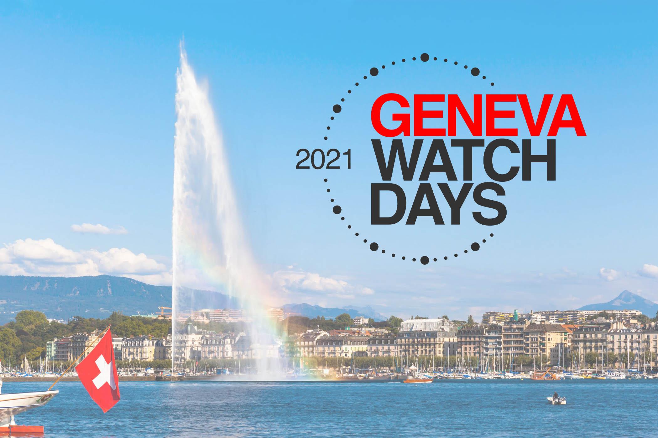 Geneva Watch Days 2021 announcing