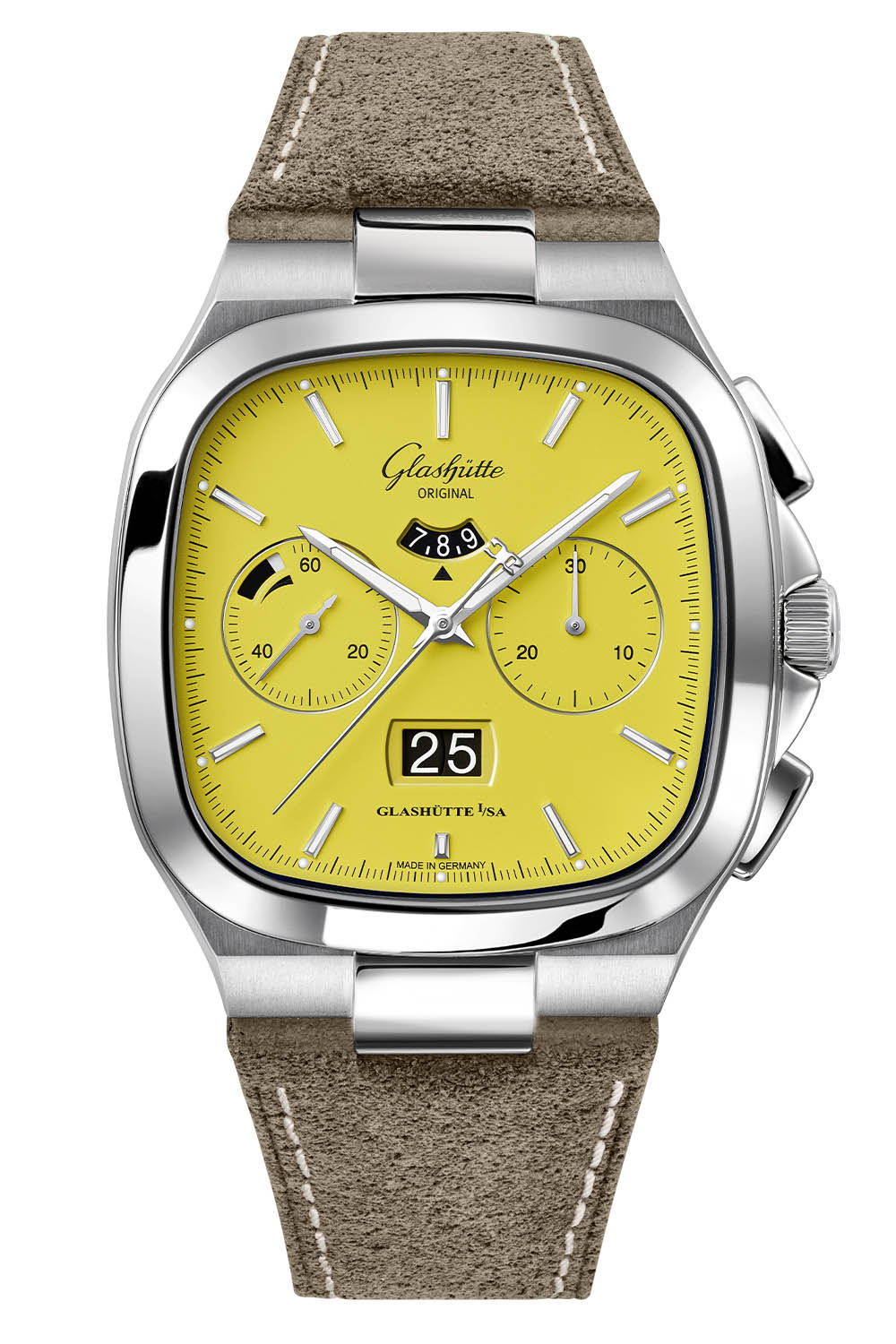 Glashutte Original Seventies Chronograph Panorama Date 2021 Limited Editions sunny yellow - 5