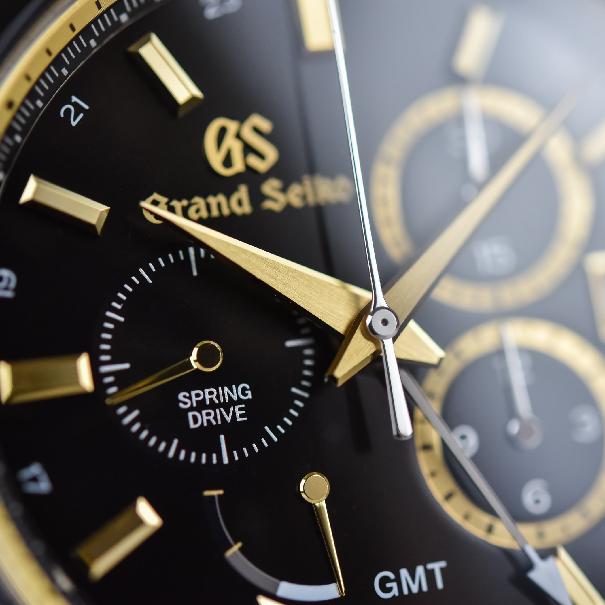 Grand Seiko Spring Drive Chronograph GMT SBGC240 Limited Edition Seiko 140th Anniversary