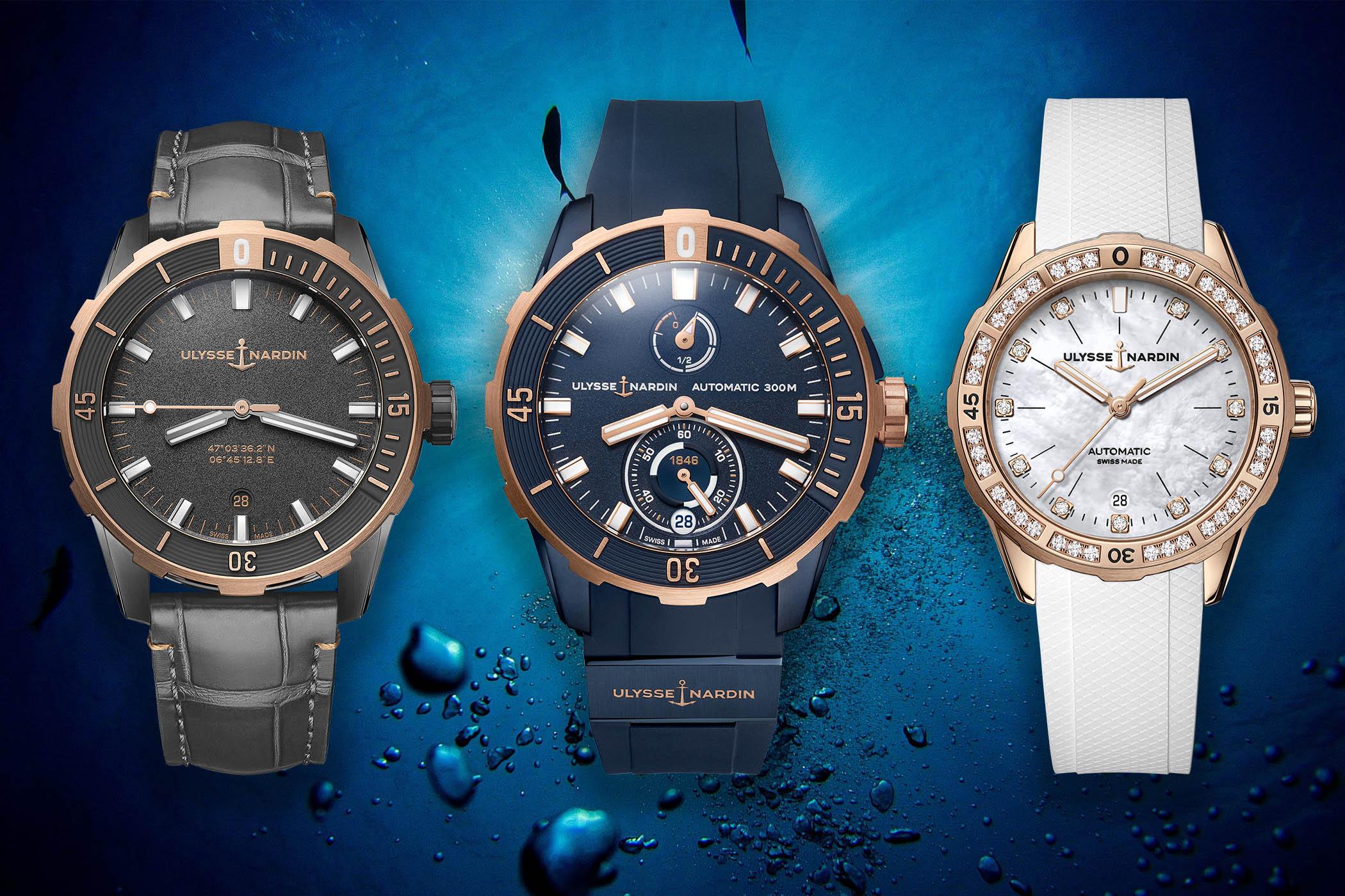 Introducing - Three New Ulysse Nardin Diver Models 2021