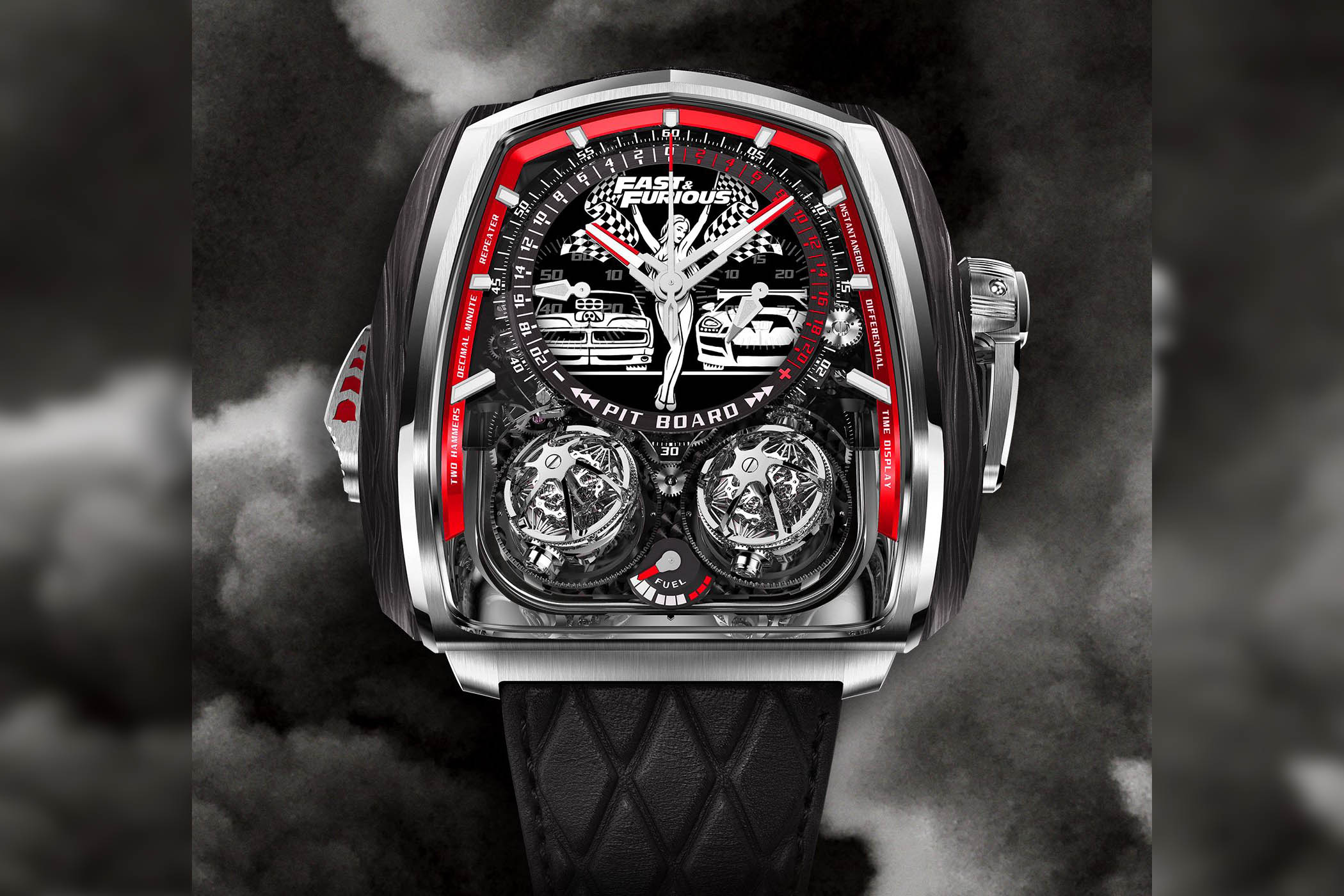 Jacob & Co Twin Turbo Fast & Furious Limited Edition
