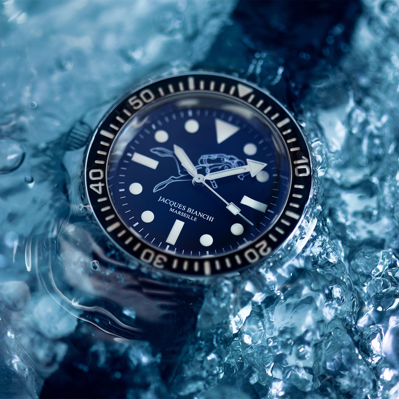 Jacques Bianchi JB200 Dive Watch 2021 Re-Edition kickstarter