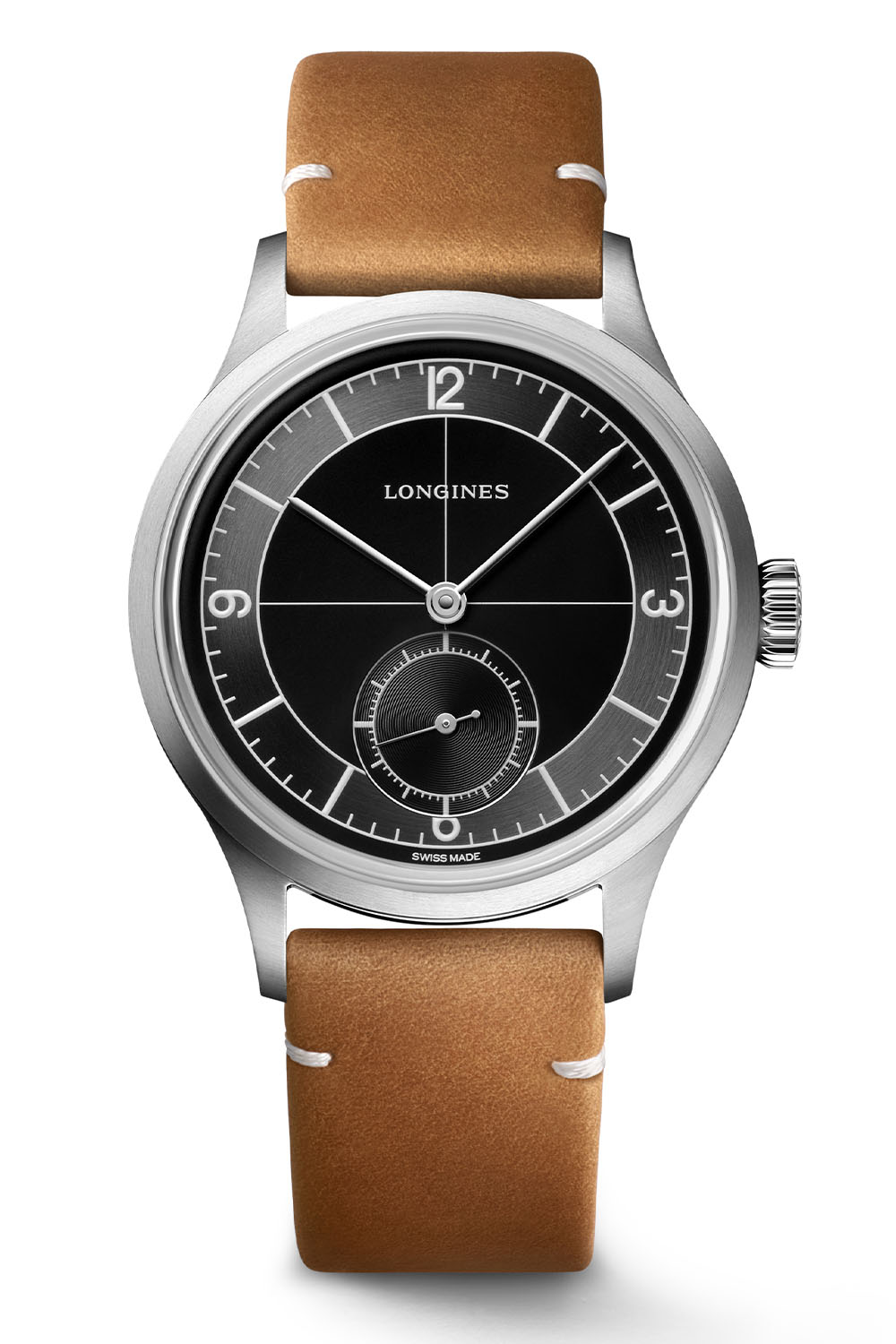 Longines Heritage Classic Black Sector dial
